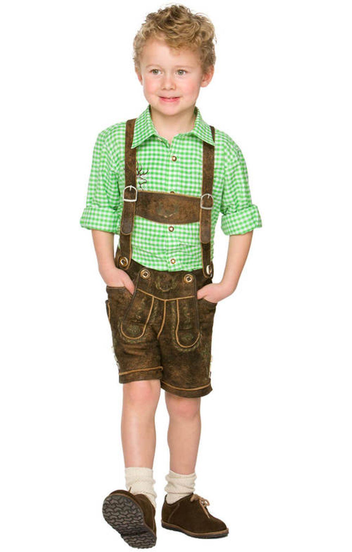 Stockerpoint - Kinder Trachten Hemd Leo, Gr. 122-152 – Bild 5