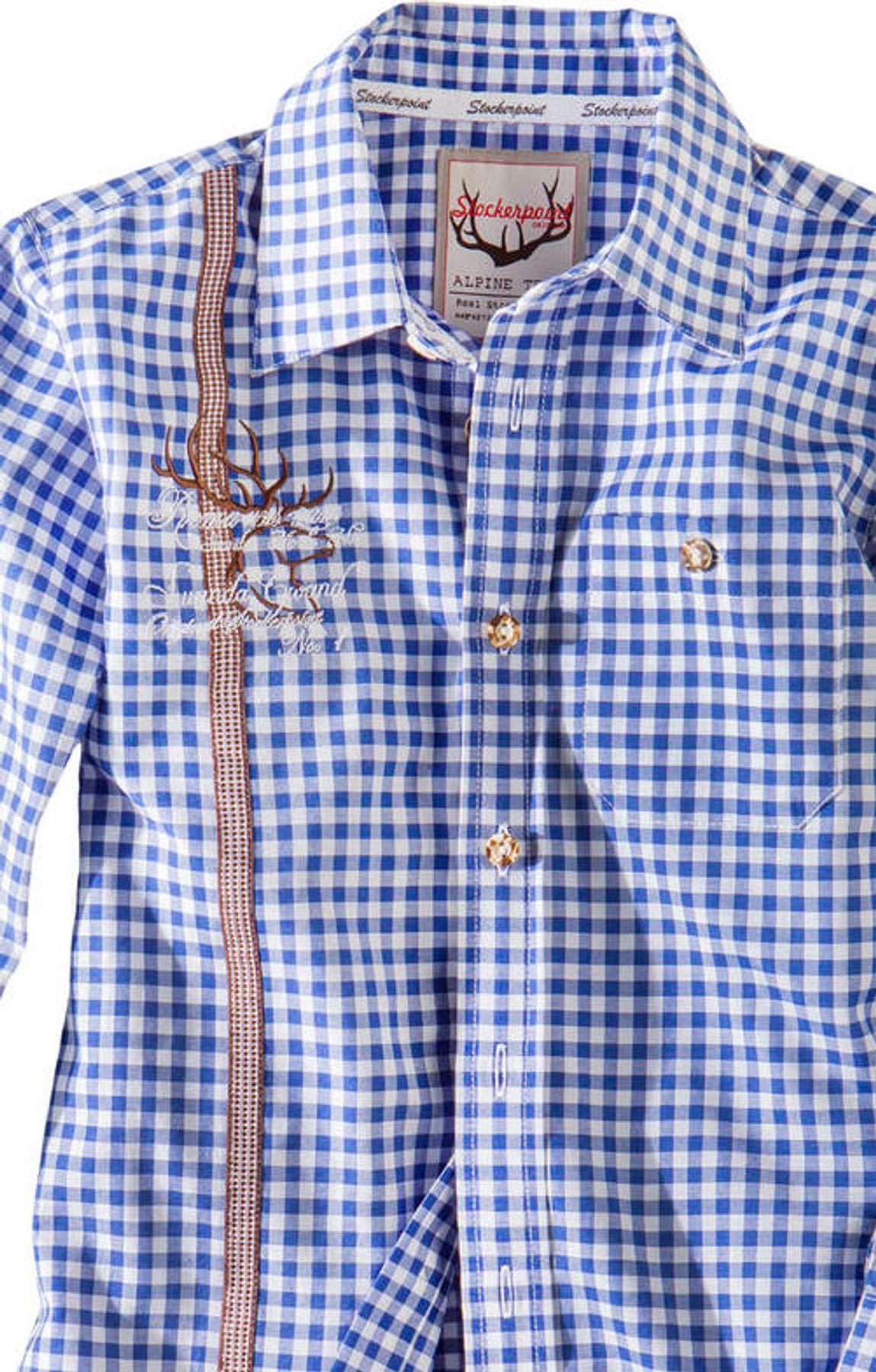 Stockerpoint - Kinder Trachten Hemd Leo, Gr. 122-152 – Bild 8