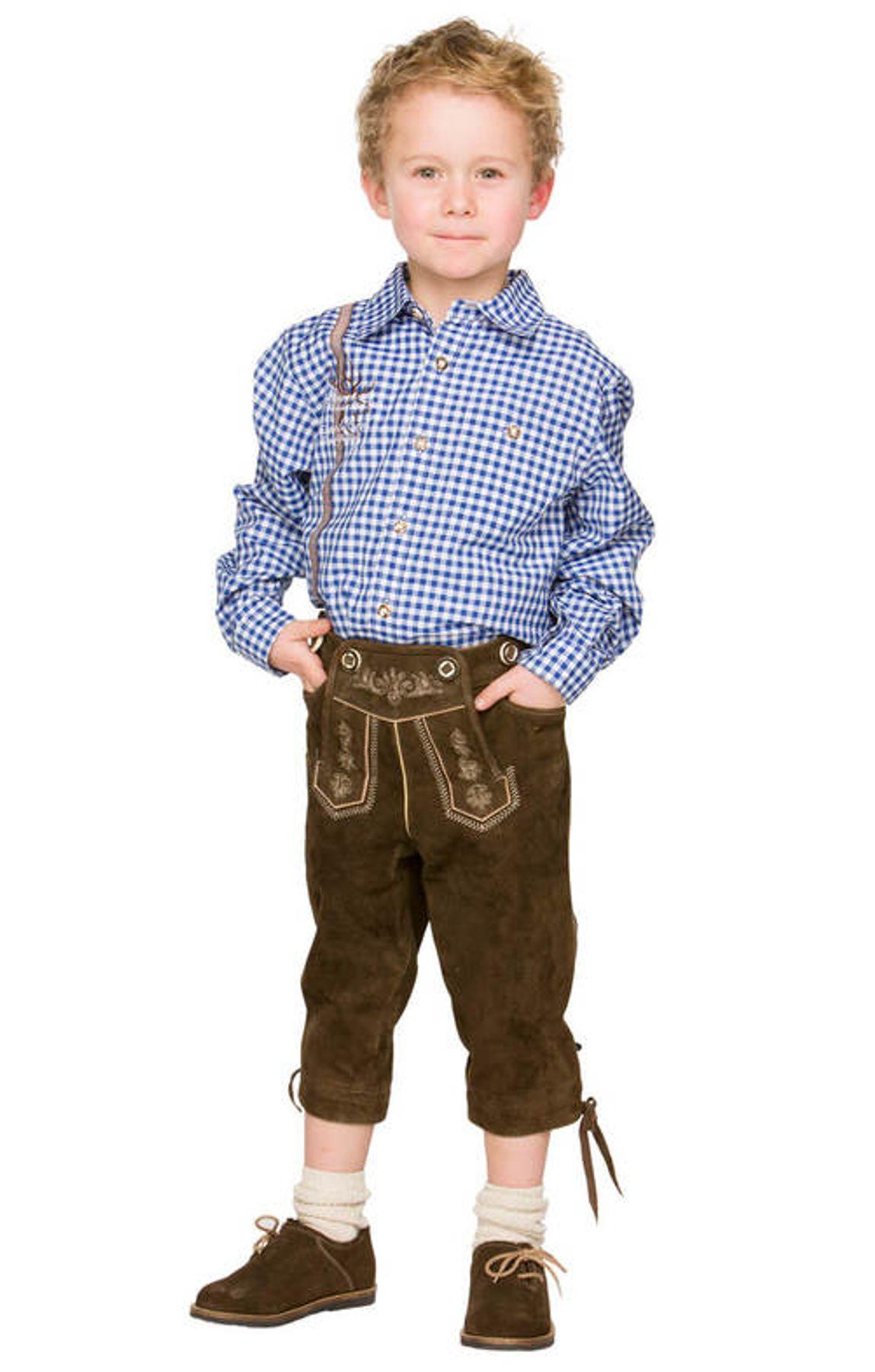 Stockerpoint - Kinder Trachten Hemd Leo, Gr. 122-152 – Bild 10