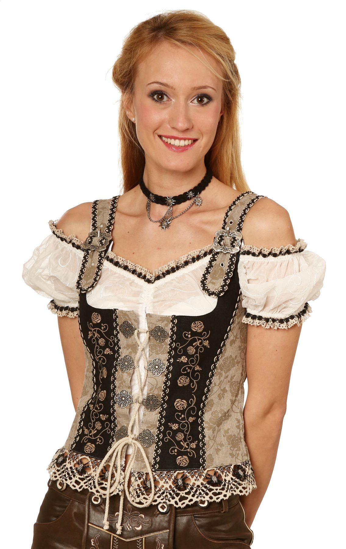Fuchs Trachten - Damen Trachten Mieder (Artikelnummer: 4583)