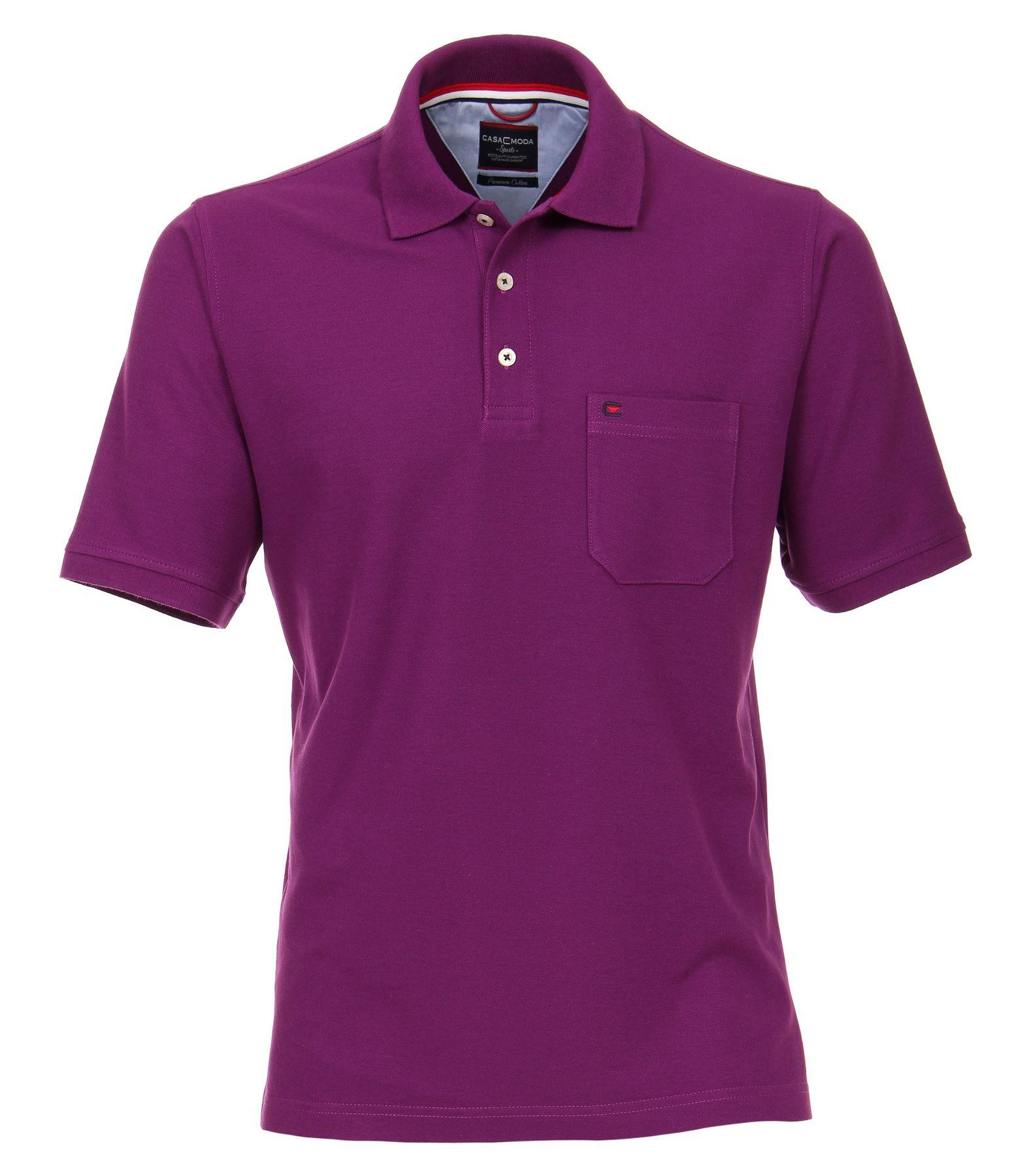 Casa Moda - Herren Polo Shirt mit Brusttasche in verschiedenen Farben S-6XL (004270) – Bild 23