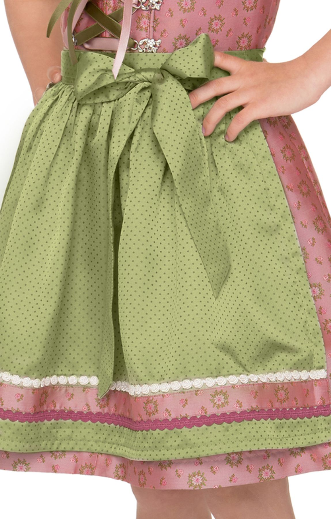 Stockerpoint - Kinder Trachten Dirndl Suki in Rose, Gr. 122-152 – Bild 5