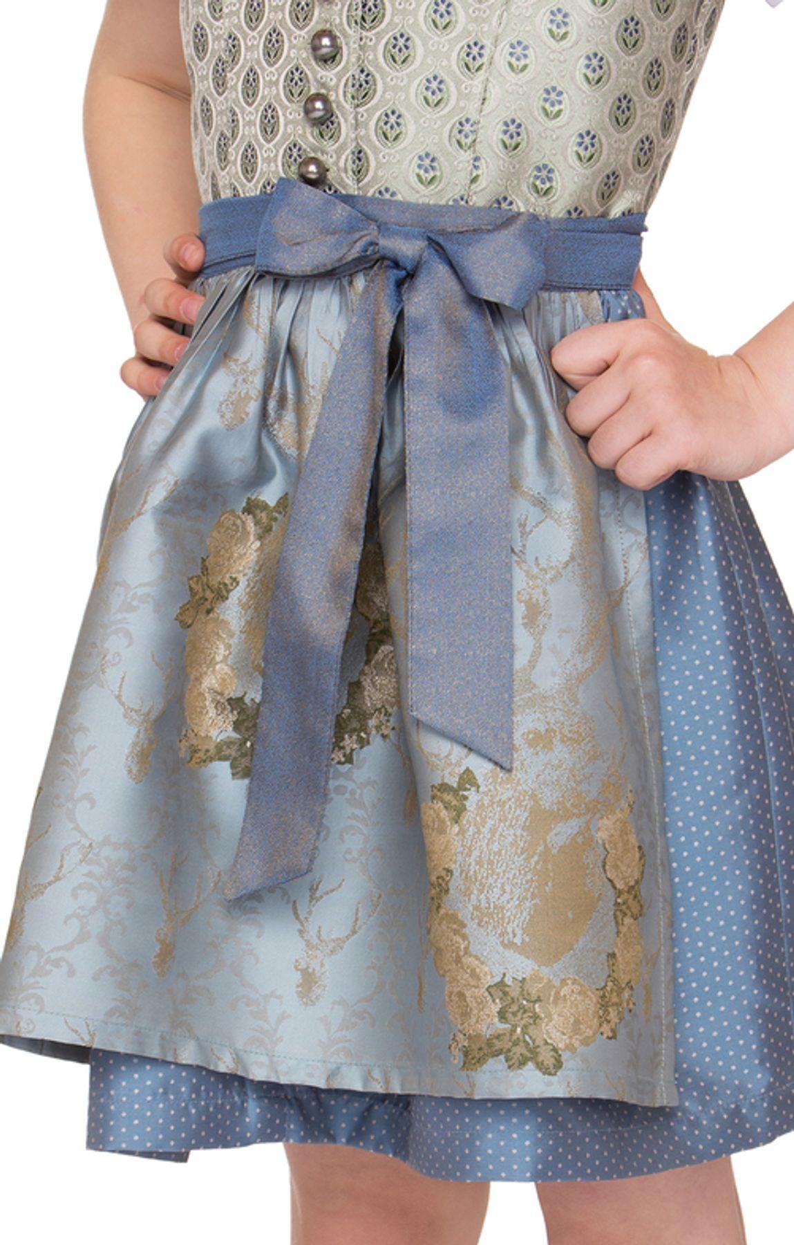 Stockerpoint - Kinder Trachten Dirndl Lova in Bleu, Gr. 86-116 – Bild 3