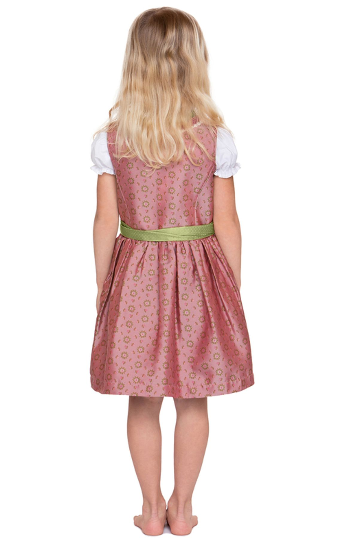 Stockerpoint - Kinder Trachten Dirndl Suki in Rose, Gr. 86-116 – Bild 4