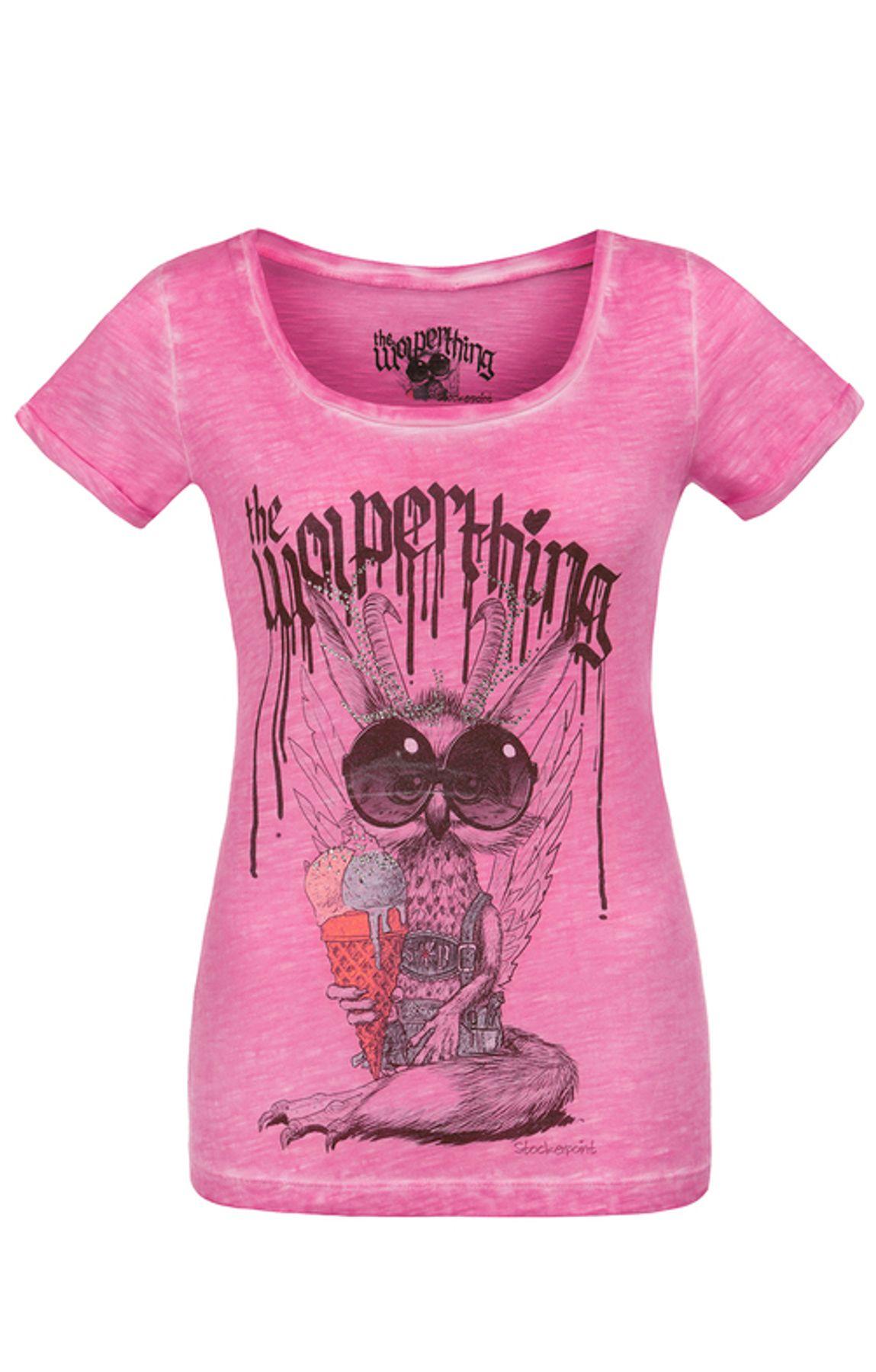 Stockerpoint - Kinder Trachten T-Shirt Wolpigirl, Gr. 86-140 – Bild 5