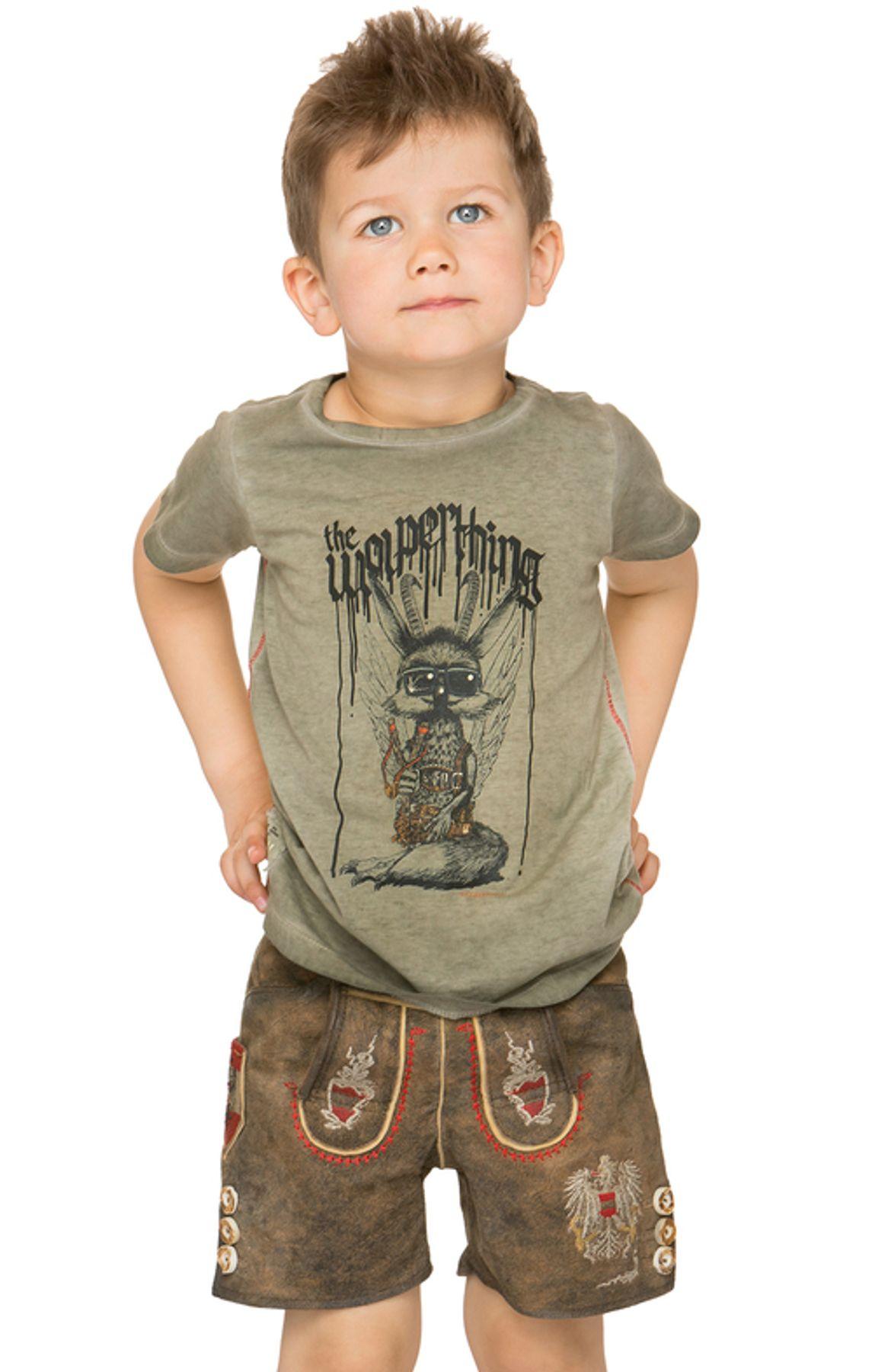 Stockerpoint - Kinder Trachten T-Shirt Wolpiboy, Gr. 86-140 – Bild 4