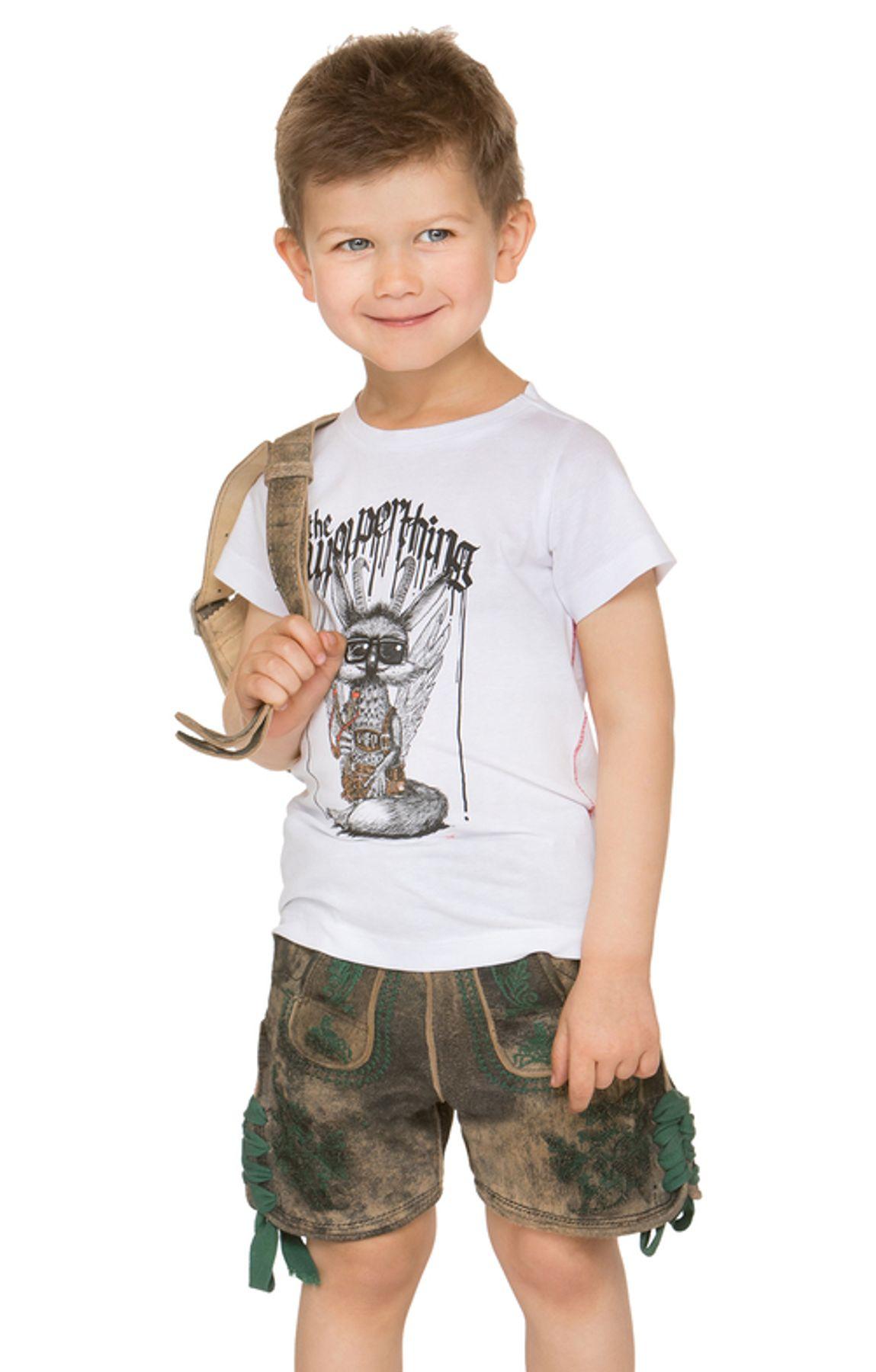 Stockerpoint - Kinder Trachten T-Shirt Wolpiboy, Gr. 86-140 – Bild 10