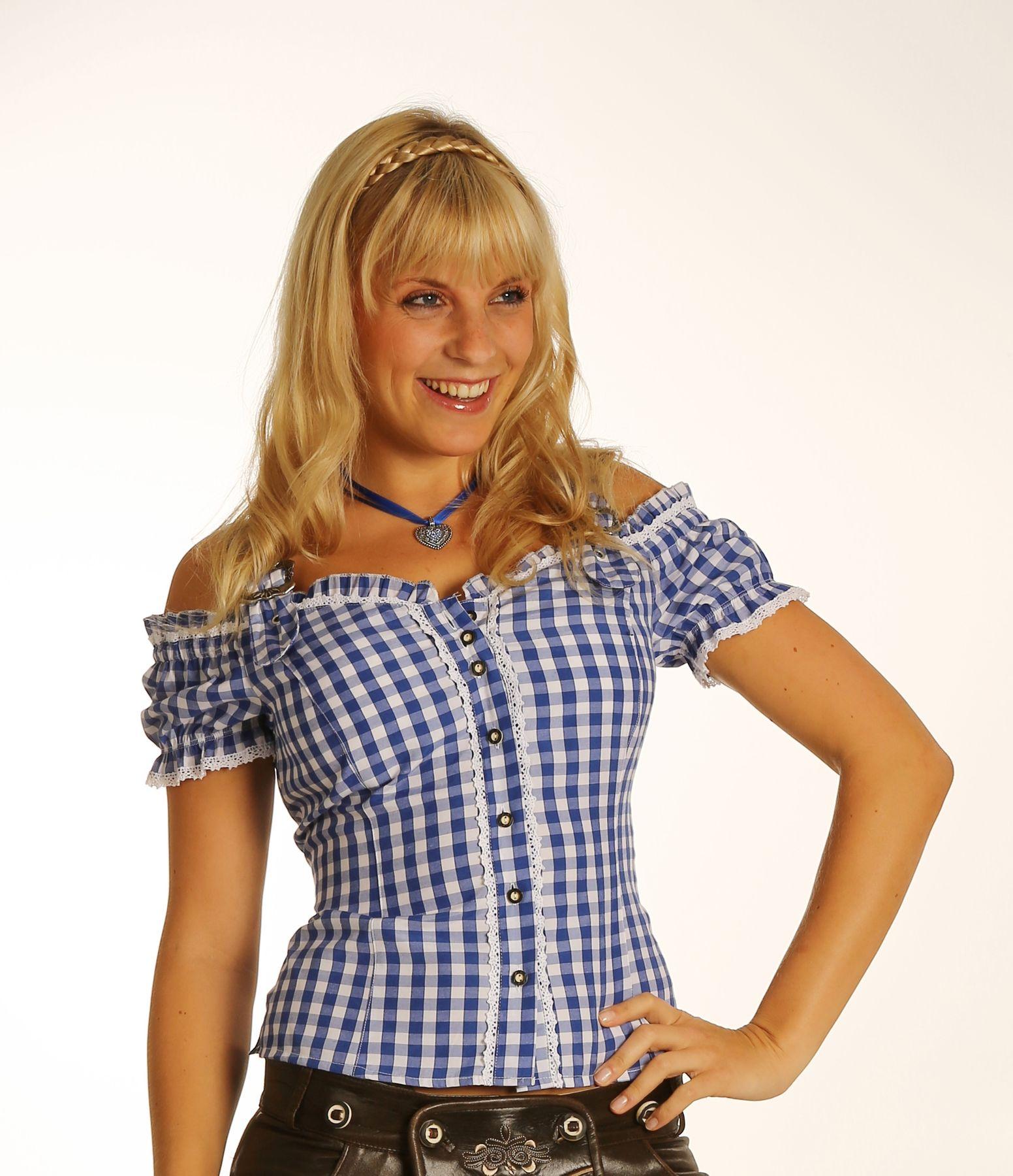 Fuchs Trachten - Damen Trachten Bluse in versch. Farben, (Artikelnummer: 4537) – Bild 8