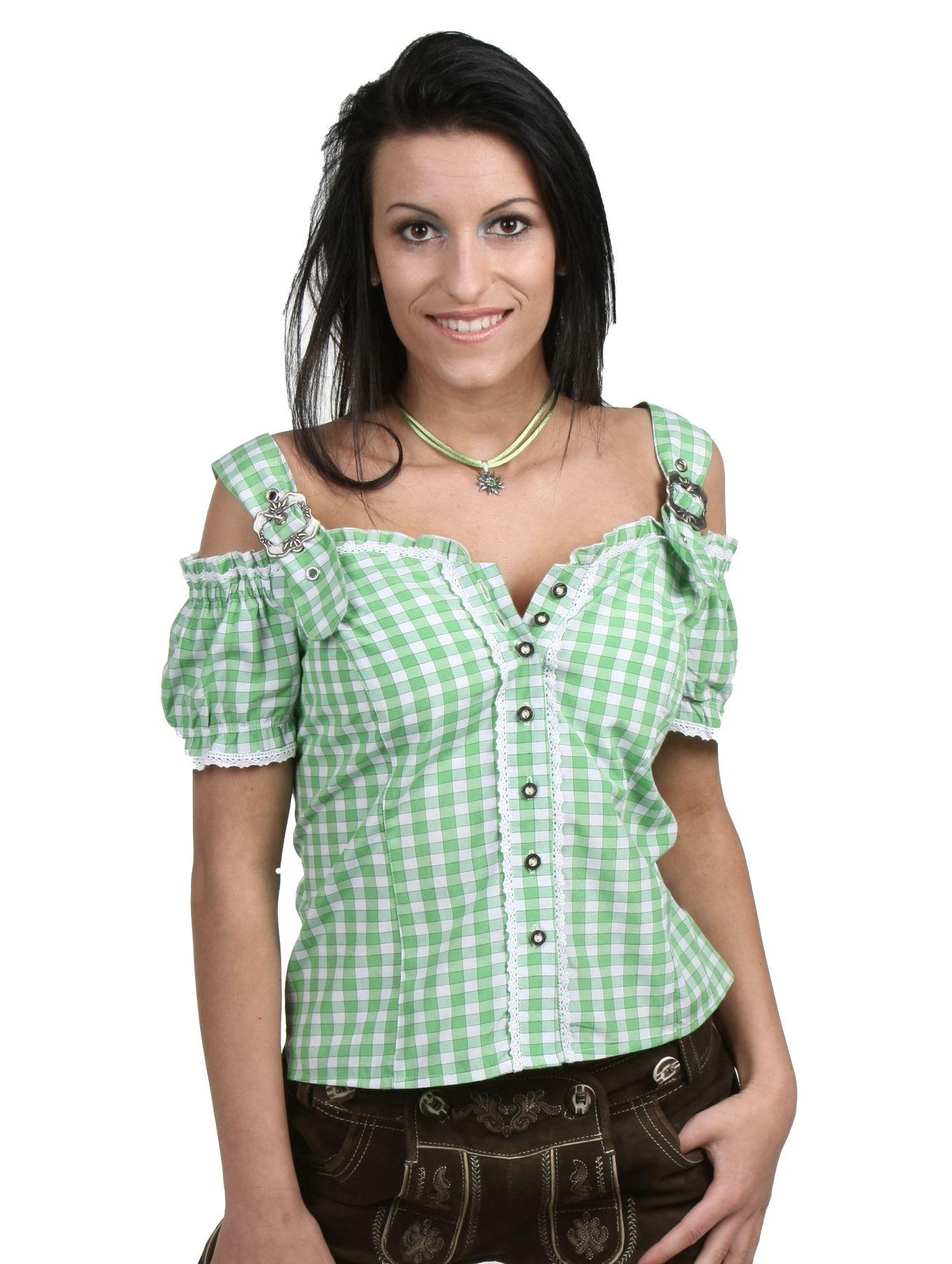 Fuchs Trachten - Damen Trachten Bluse in versch. Farben, (Artikelnummer: 4537) – Bild 5