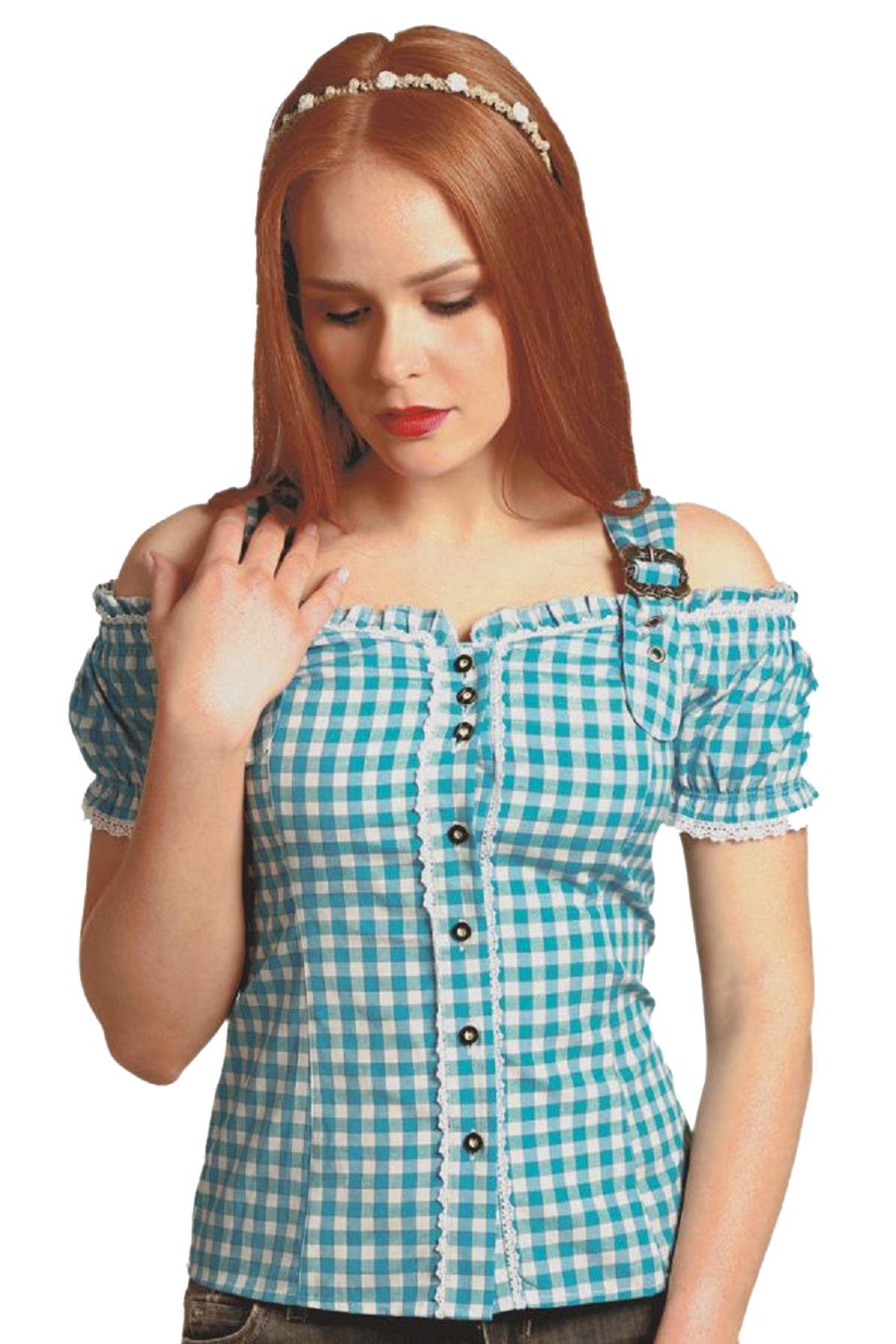 Fuchs Trachten - Damen Trachten Bluse in versch. Farben, (Artikelnummer: 4537) – Bild 11