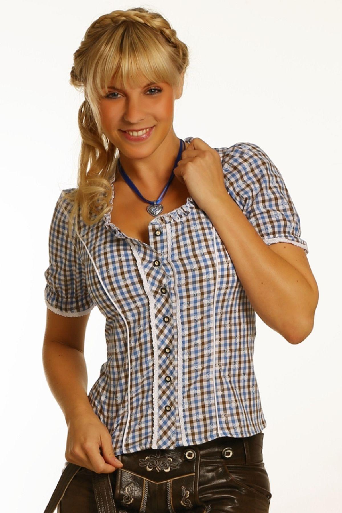 Fuchs Trachten - Damen Trachten Bluse in versch. Farben, (Artikelnummer: 4540) – Bild 10