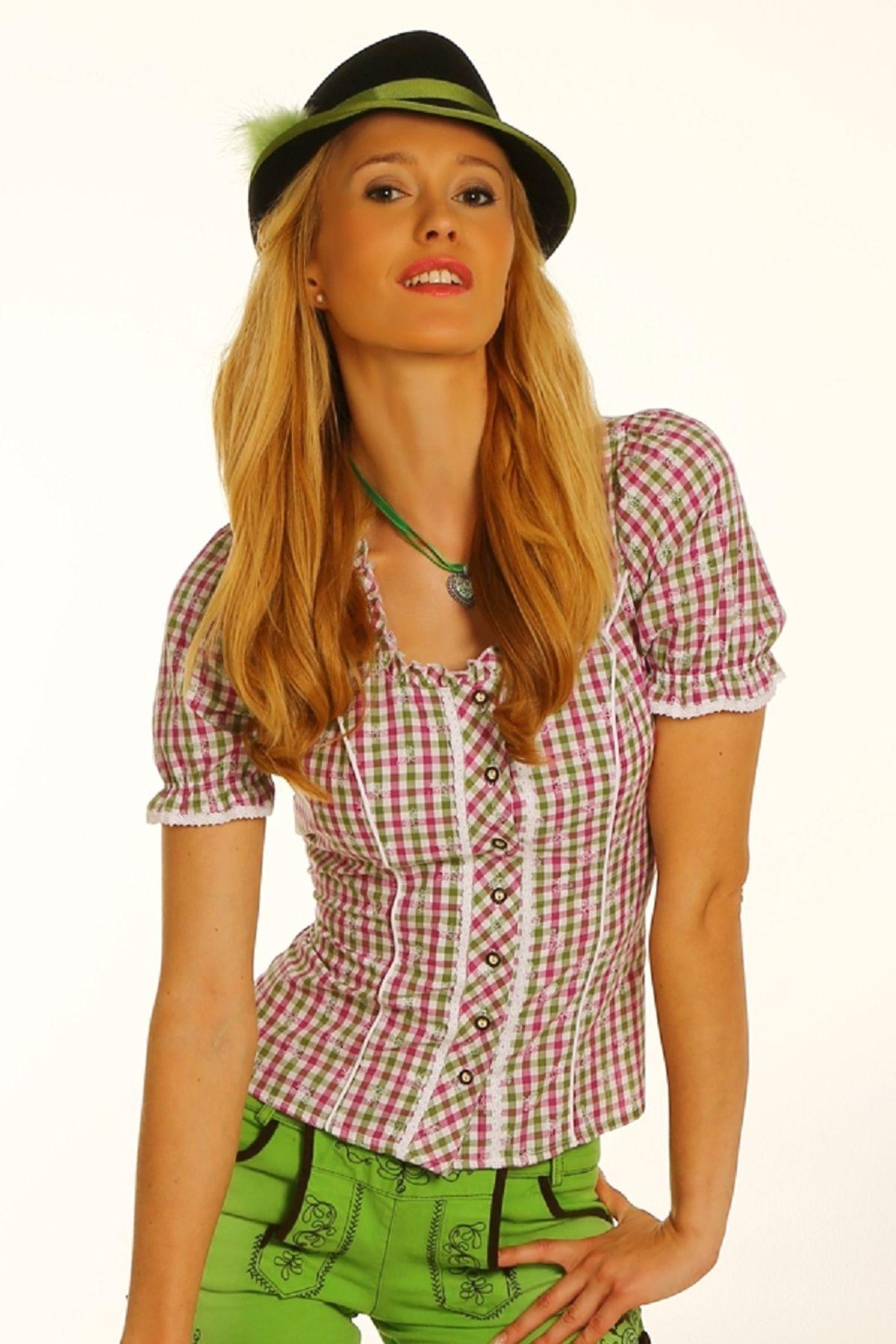 Fuchs Trachten - Damen Trachten Bluse in versch. Farben, (Artikelnummer: 4540) – Bild 15