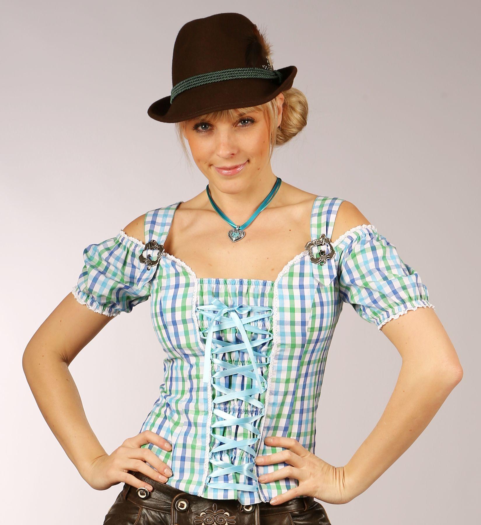Fuchs Trachten - Damen Trachten Bluse in versch. Farben, (Artikelnummer: 4543) – Bild 2