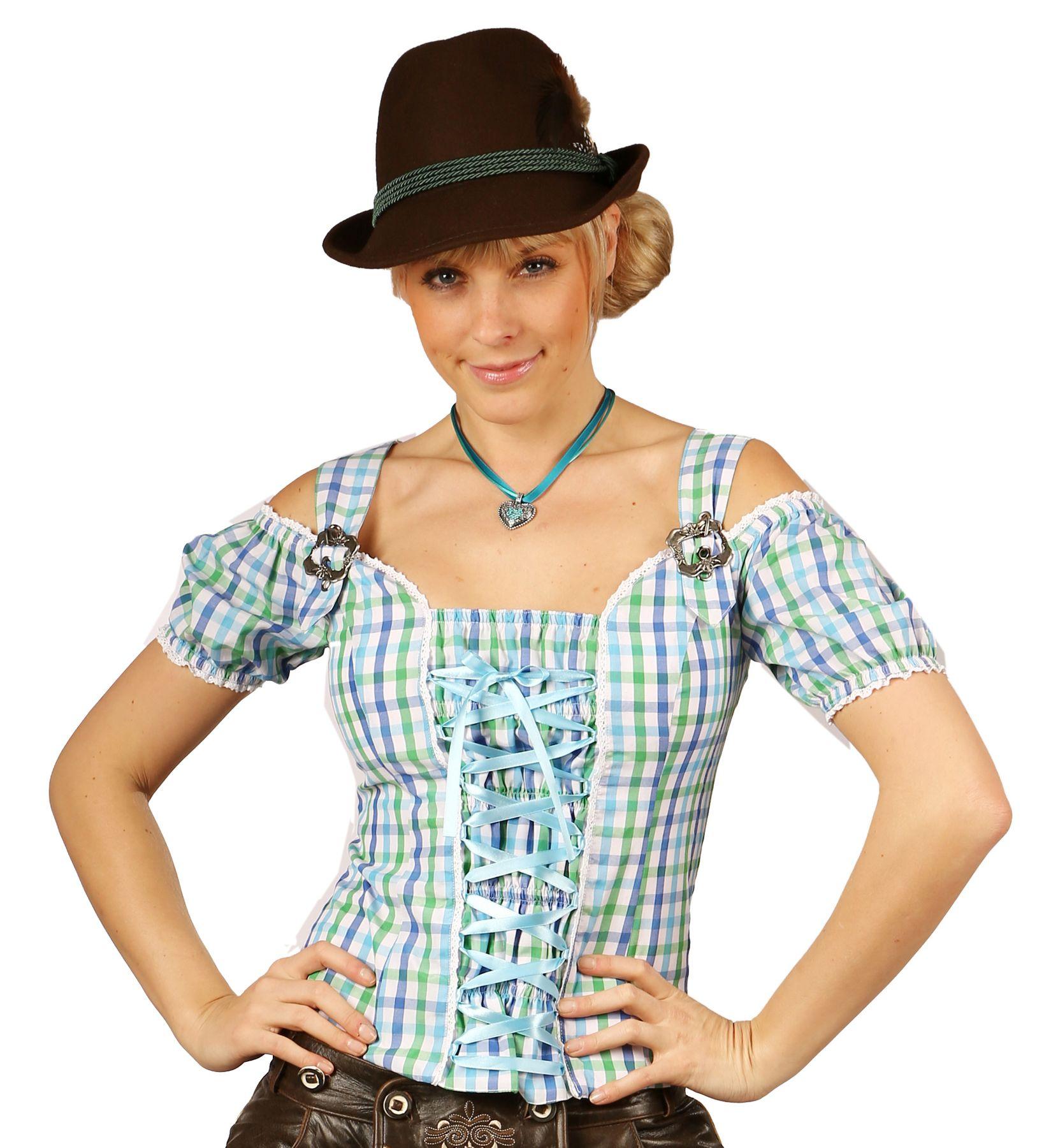 Fuchs Trachten - Damen Trachten Bluse in versch. Farben, (Artikelnummer: 4543) – Bild 1