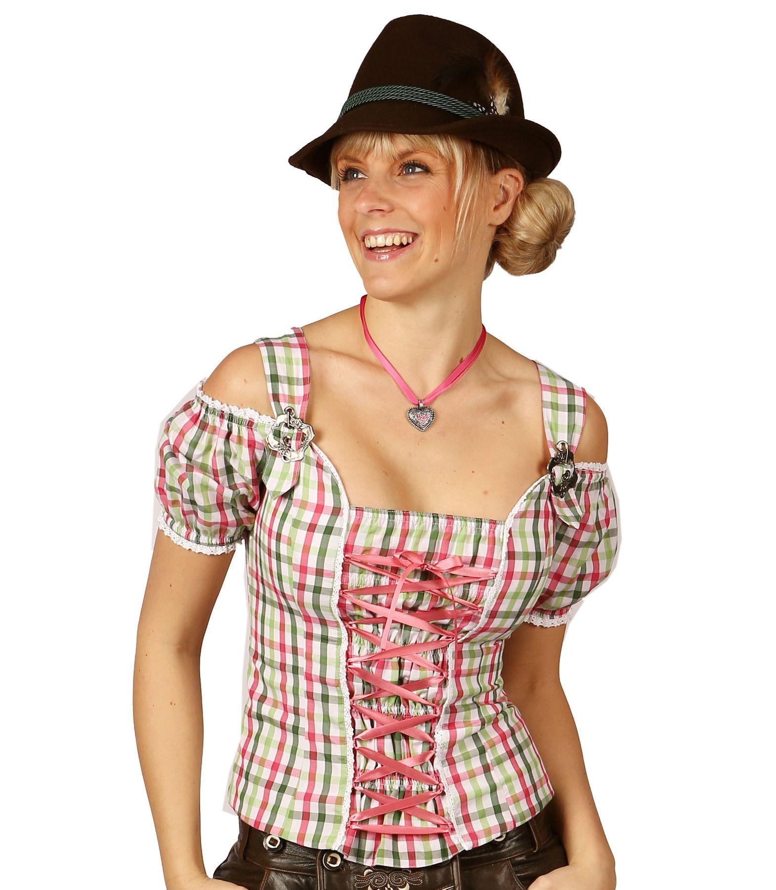 Fuchs Trachten - Damen Trachten Bluse in versch. Farben, (Artikelnummer: 4543) – Bild 3
