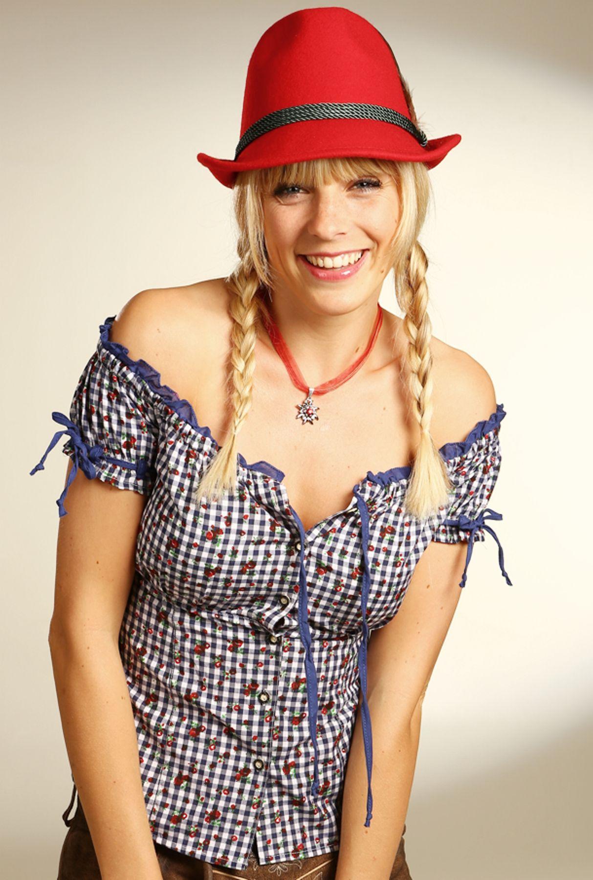 Fuchs Trachten - Damen Trachten Bluse in versch. Farben, (Artikelnummer: 4545) – Bild 4