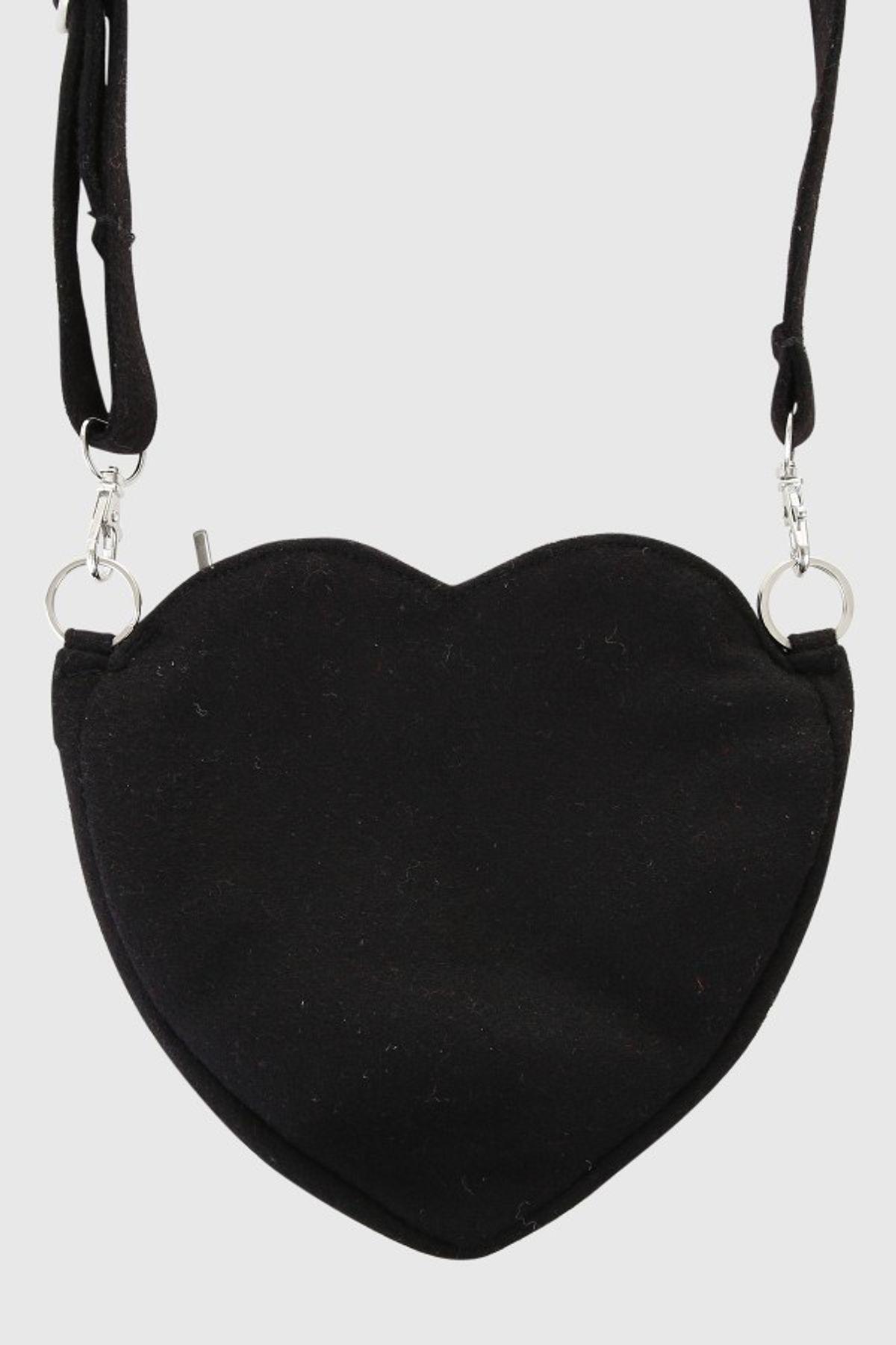 Krüger - Damen Trachtentasche in schwarz, Happiness (4740-4) – Bild 5