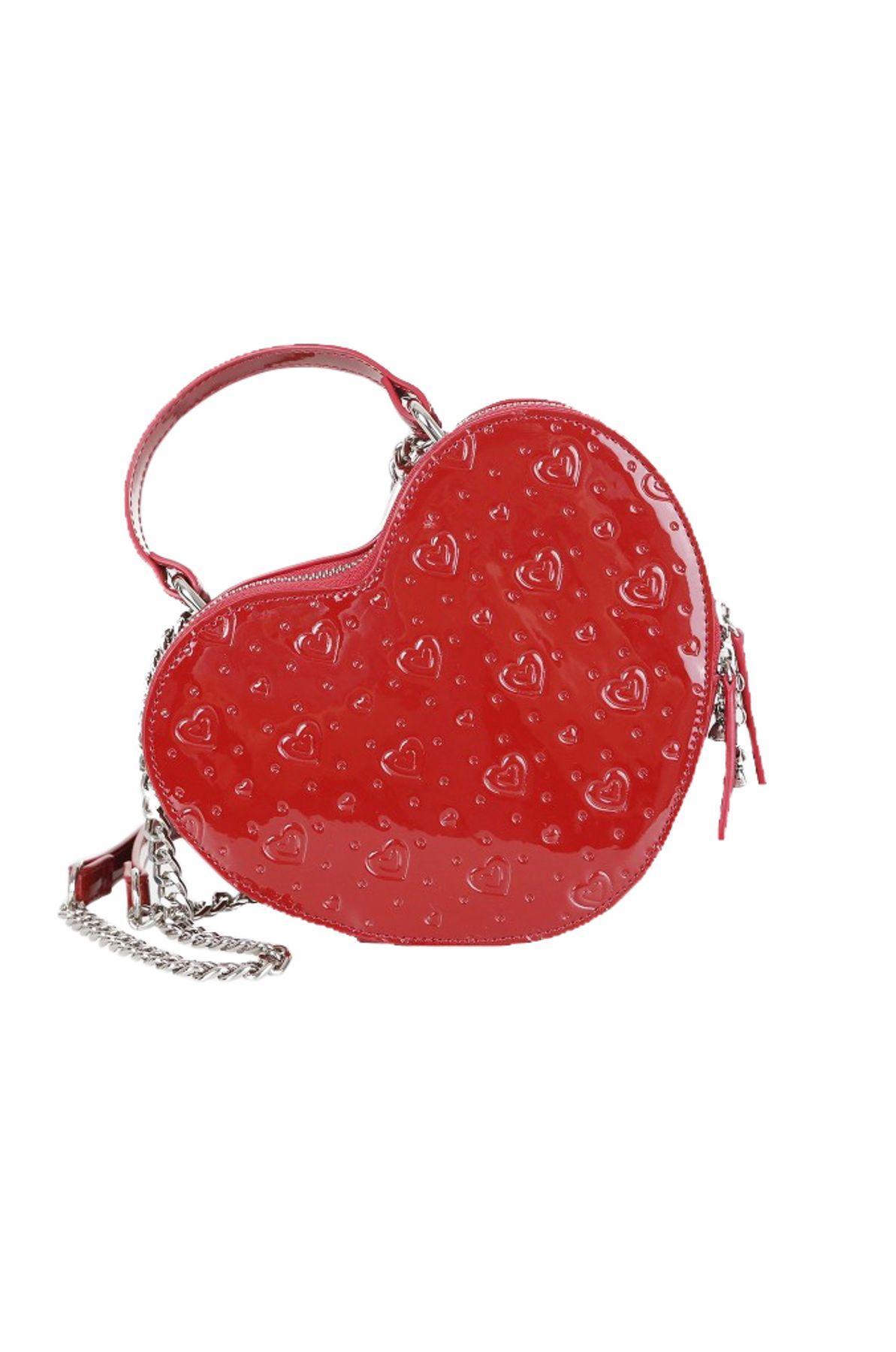 Krüger - Damen Trachtentasche in rot, Love (3507-9) – Bild 1