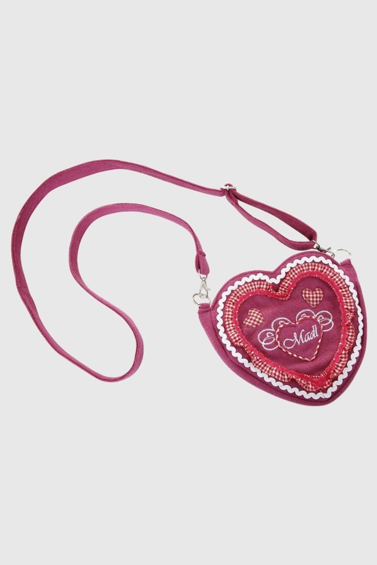 Krüger - Damen Trachtentasche in pink, Happiness (4740-35) – Bild 3