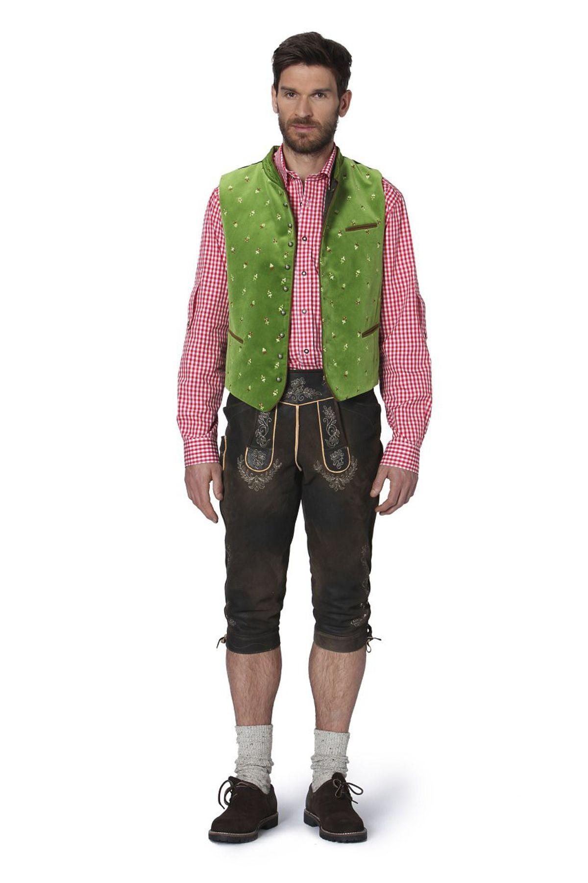 Stockerpoint - Herren Trachten Weste in verschiedenen Farbtönen, Calzado – Bild 12