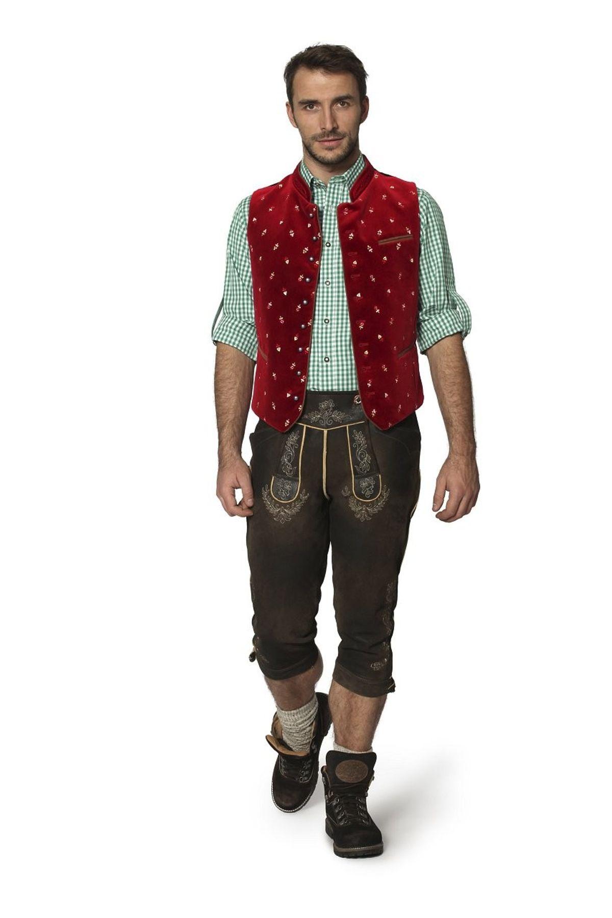 Stockerpoint - Herren Trachten Weste in verschiedenen Farbtönen, Calzado – Bild 7