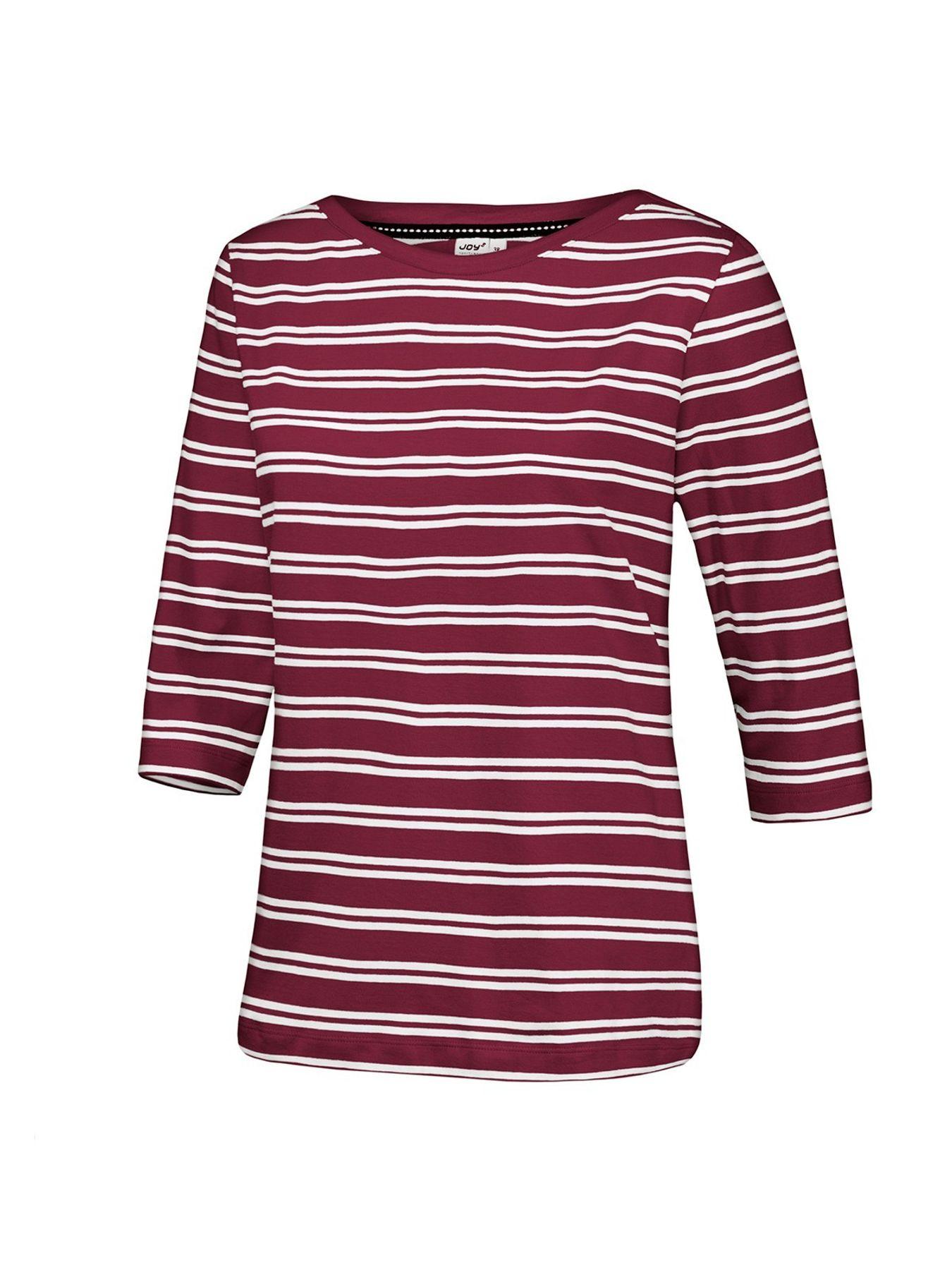 Joy - Damen Sport und Freizeit Shirt mit Streifenmuster, Carolin (30209) – Bild 13