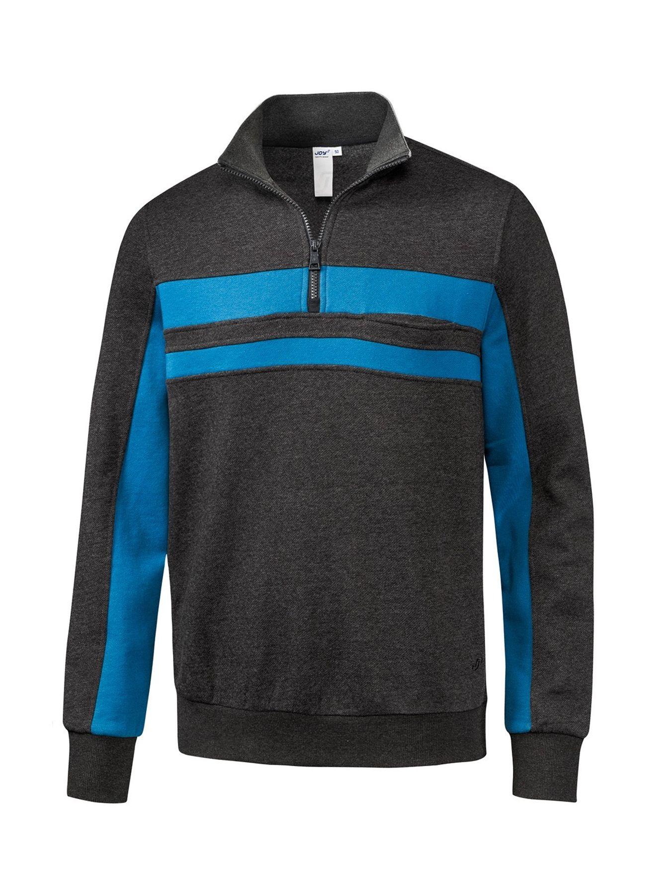 Joy - Herren Sport und Freizeit Sweatshirt mit Brusttasche, Kenny (40246) – Bild 1