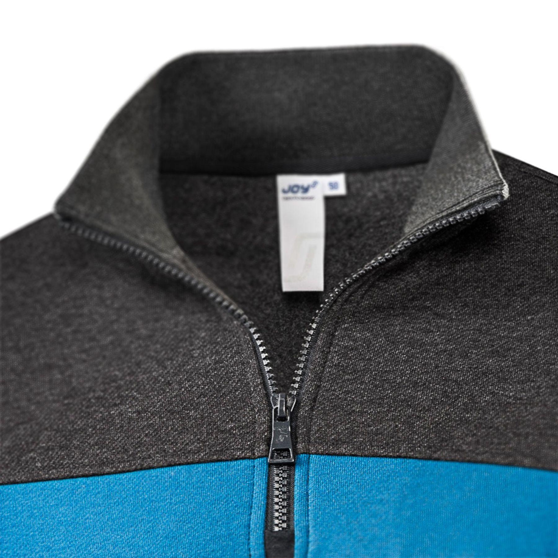 Joy - Herren Sport und Freizeit Sweatshirt mit Brusttasche, Kenny (40246) – Bild 4