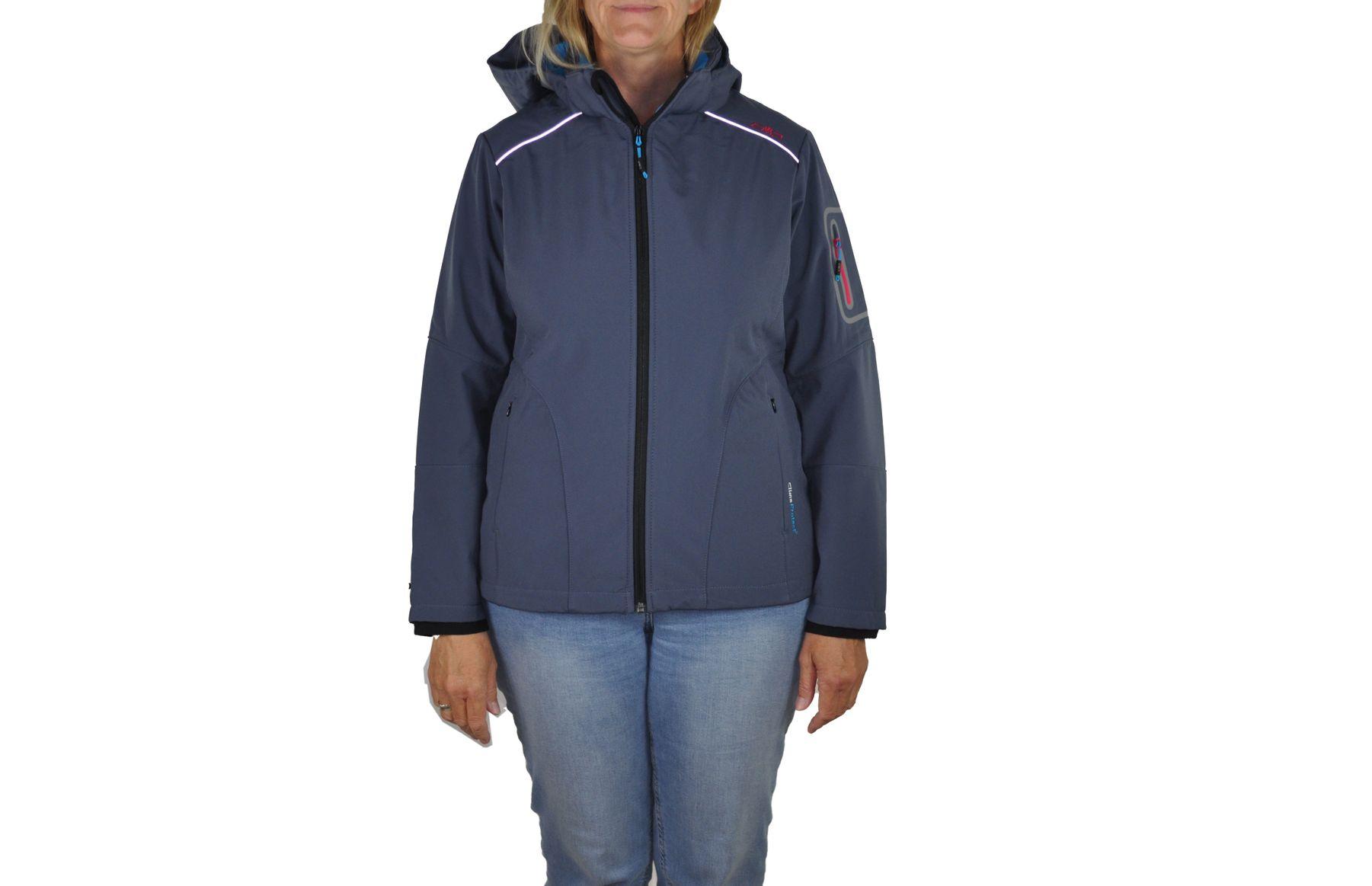 CMP - Damen Softshell Jacke, Winddicht, Wasserdicht, Atmungsaktiv (3A05396) – Bild 7