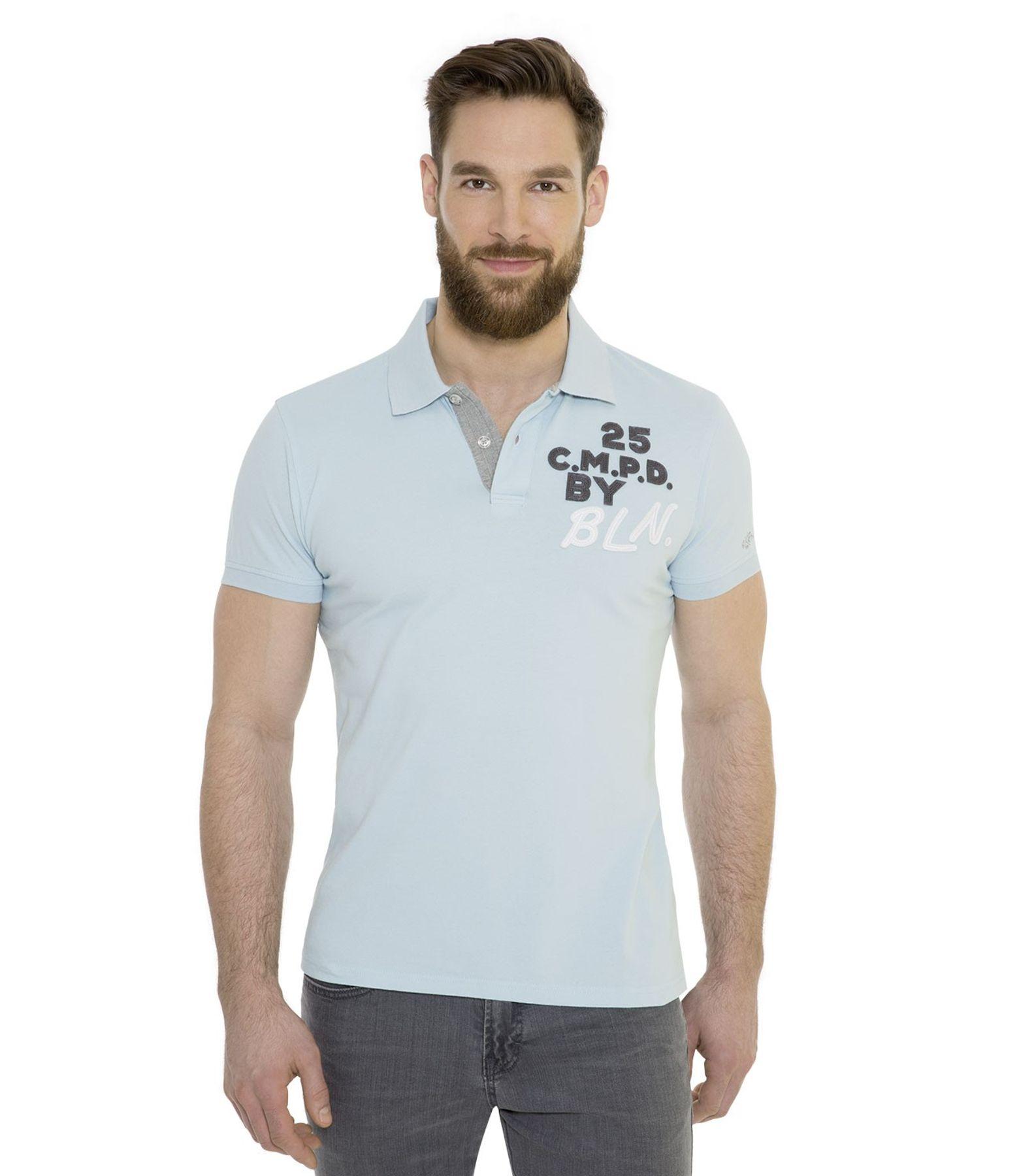 Camp David - Herren Poloshirt in verschiedenen Farben, bis 3XL (CHS-1804-3021)  – Bild 5