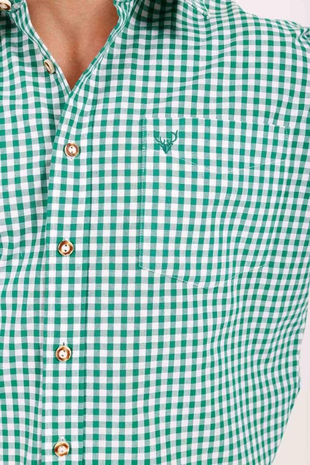 Krüger - Herren Trachtenhemd in grün (951-105) – Bild 2