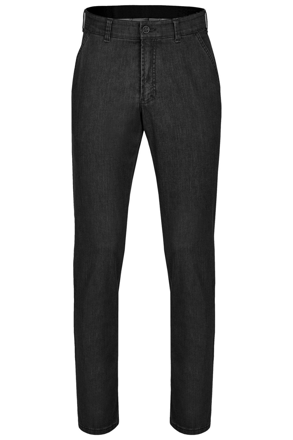 Herren Flat Front Jeans in Blau oder Schwarz (15205000) – Bild 2