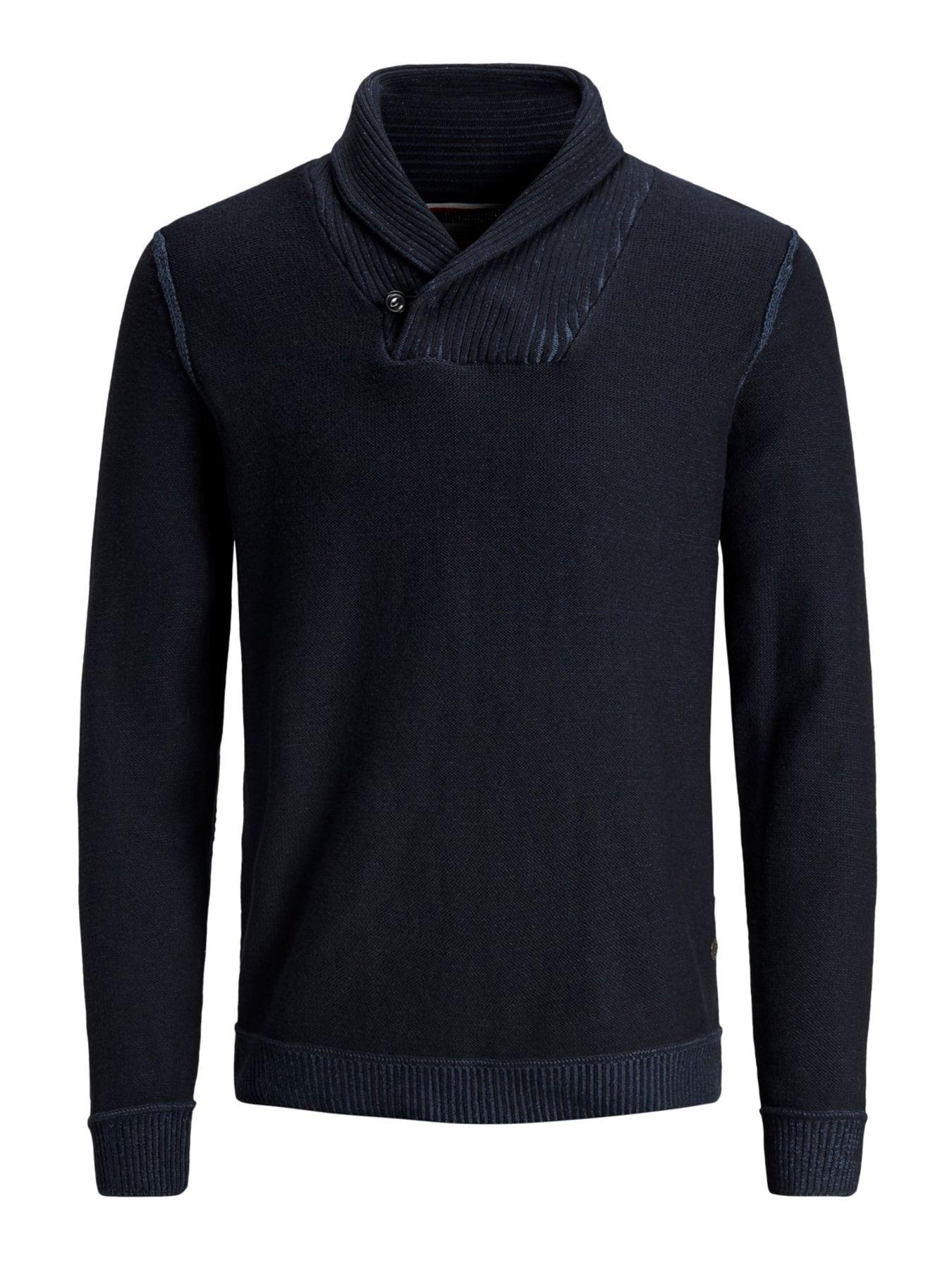 Jack & Jones - Herren Pullover aus 100% Baumwolle,  JORKAIDEN KNIT HIGH NECK (12141080) – Bild 6