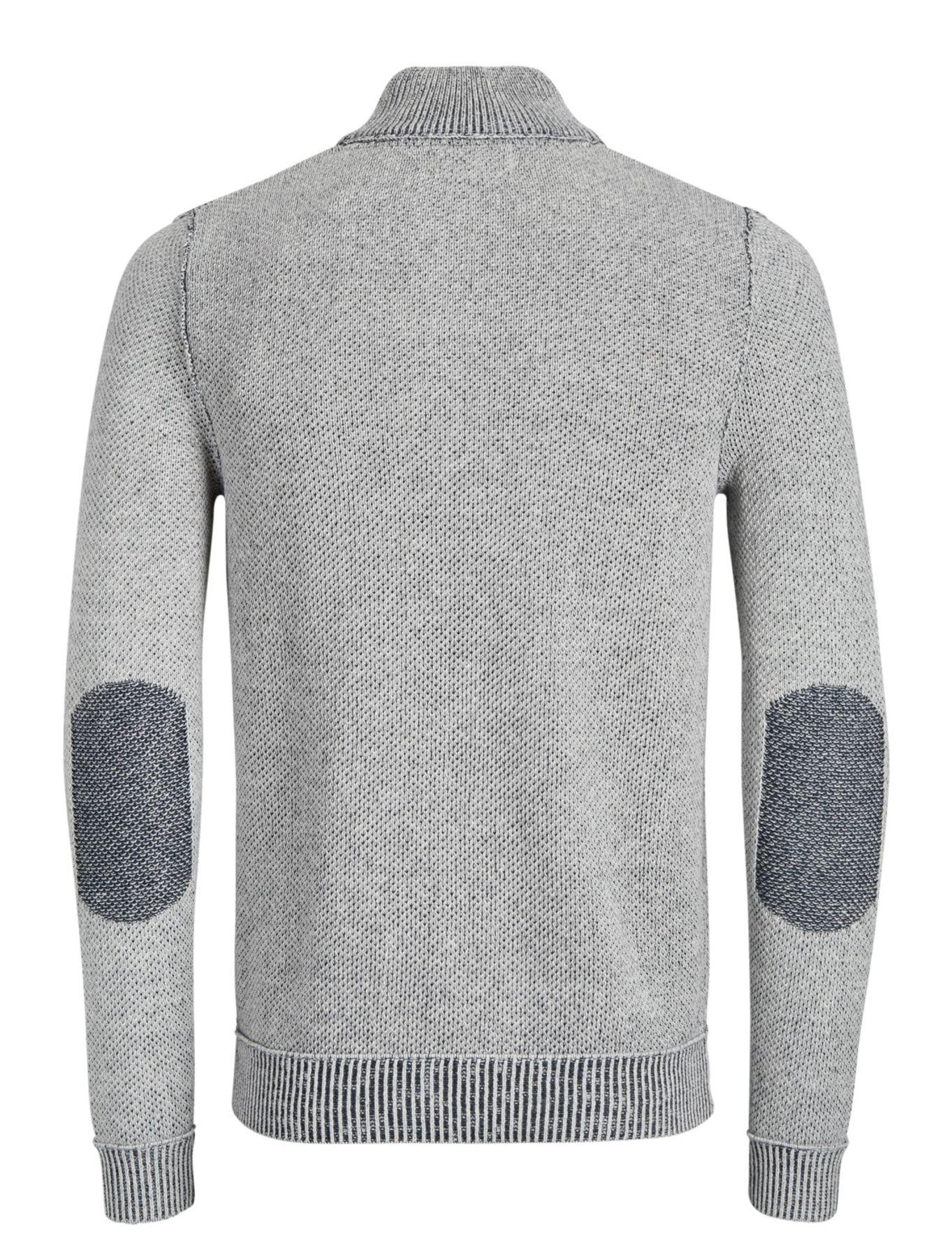 Jack & Jones - Herren Pullover aus 100% Baumwolle,  JORKAIDEN KNIT HIGH NECK (12141080) – Bild 2