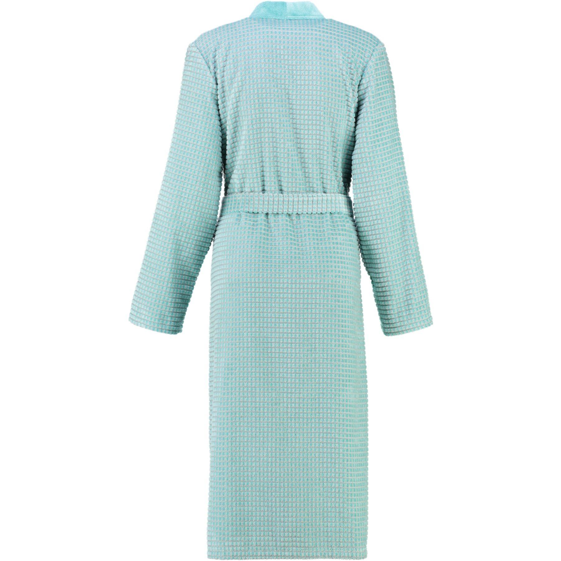 Cawö - Damen Walkvelours-Bademantel in Kimono-Form (4346) – Bild 5