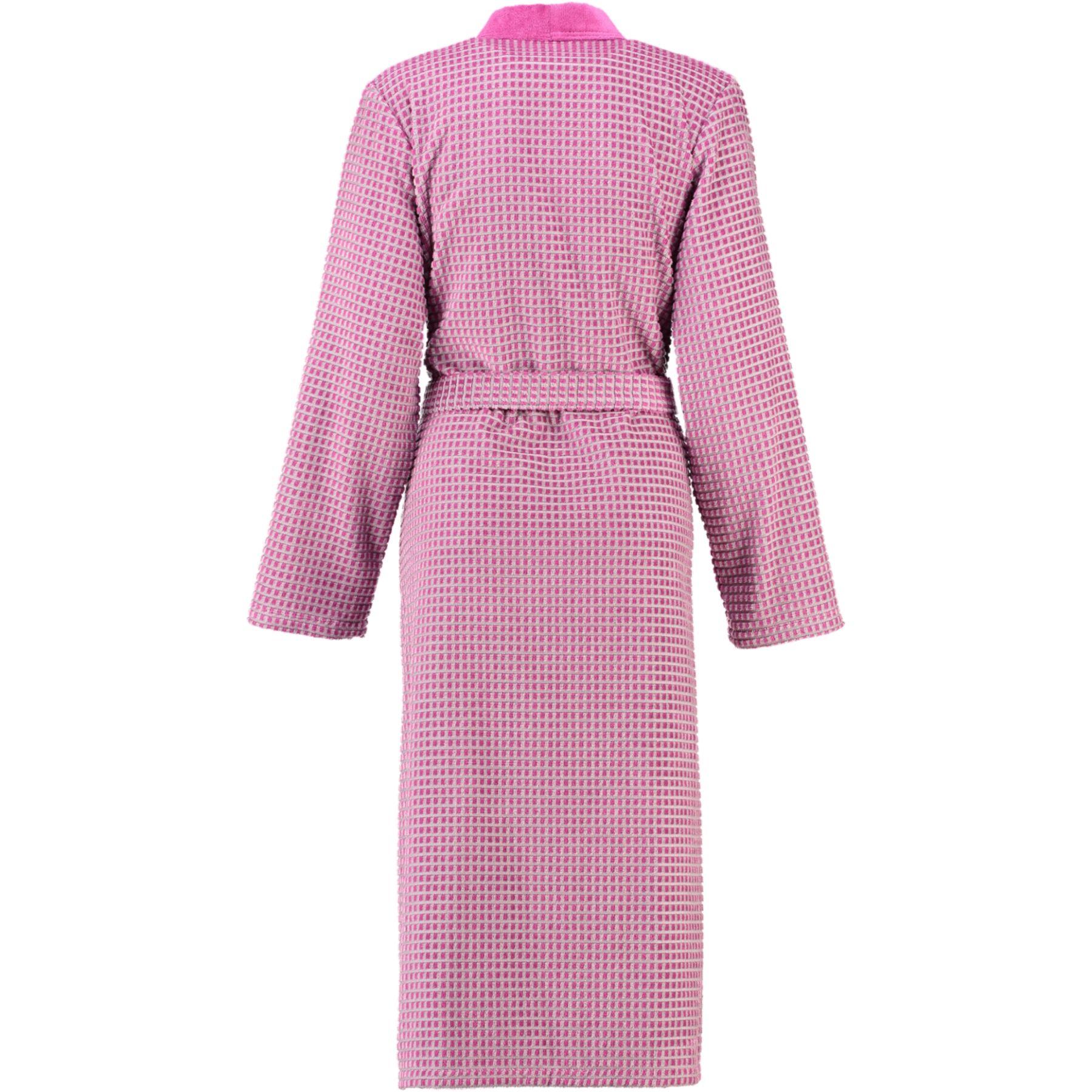 Cawö - Damen Walkvelours-Bademantel in Kimono-Form (4346) – Bild 2