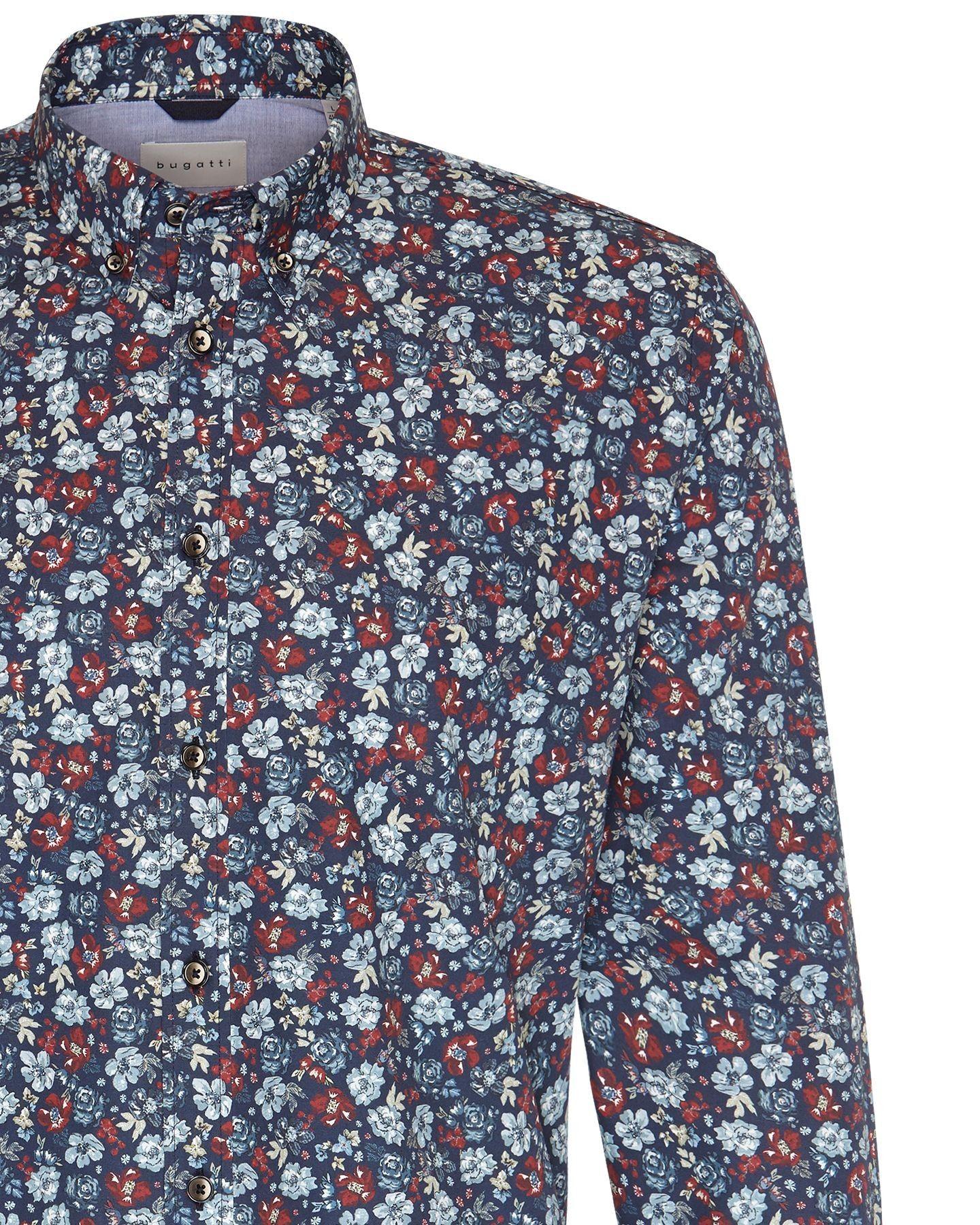 Bugatti - Herren Hemd mit floralem Muster (28822-9350) – Bild 2