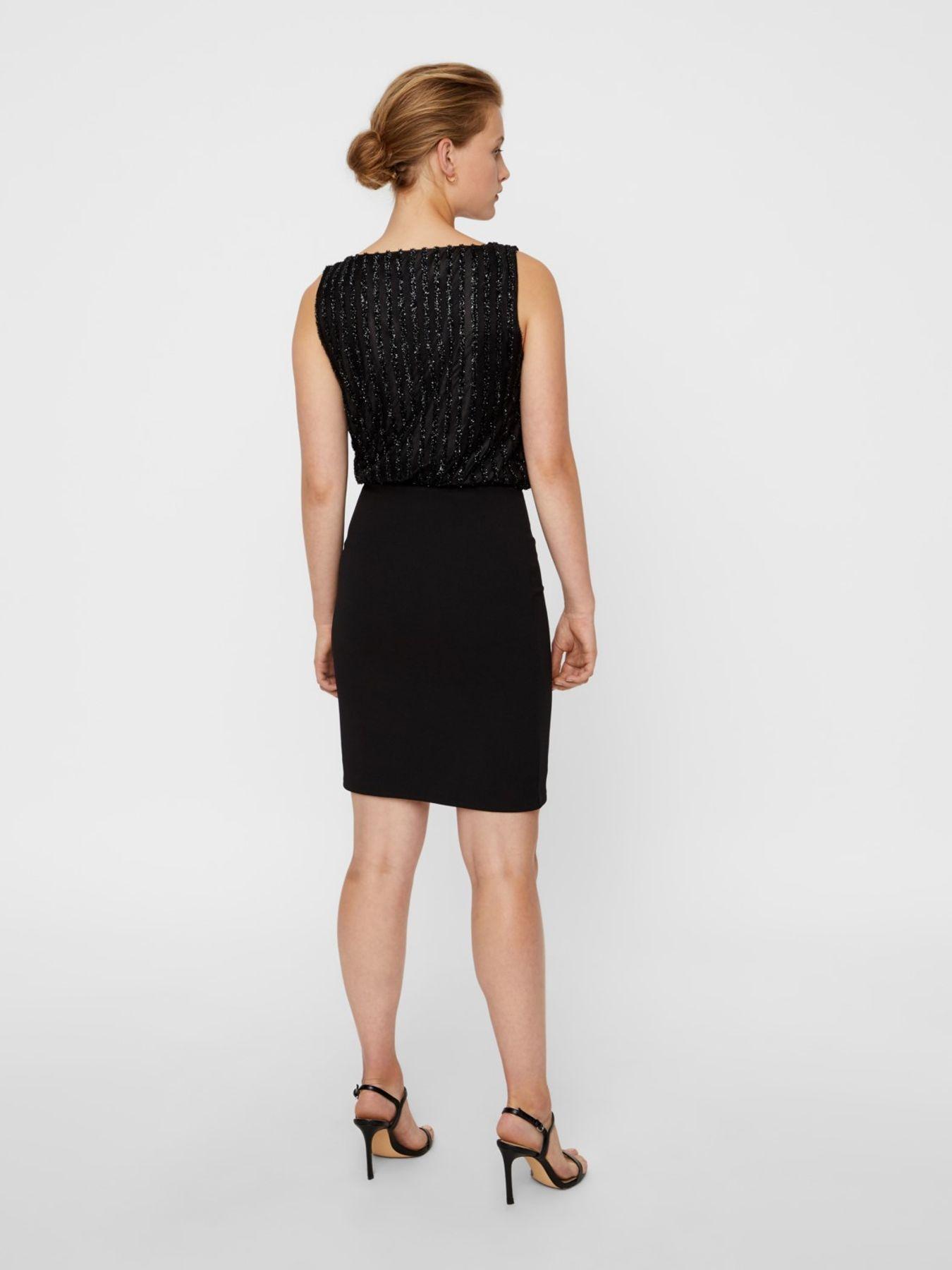 VERO MODA - Damen Kleid in Blau oder schwarz (10207332) – Bild 3