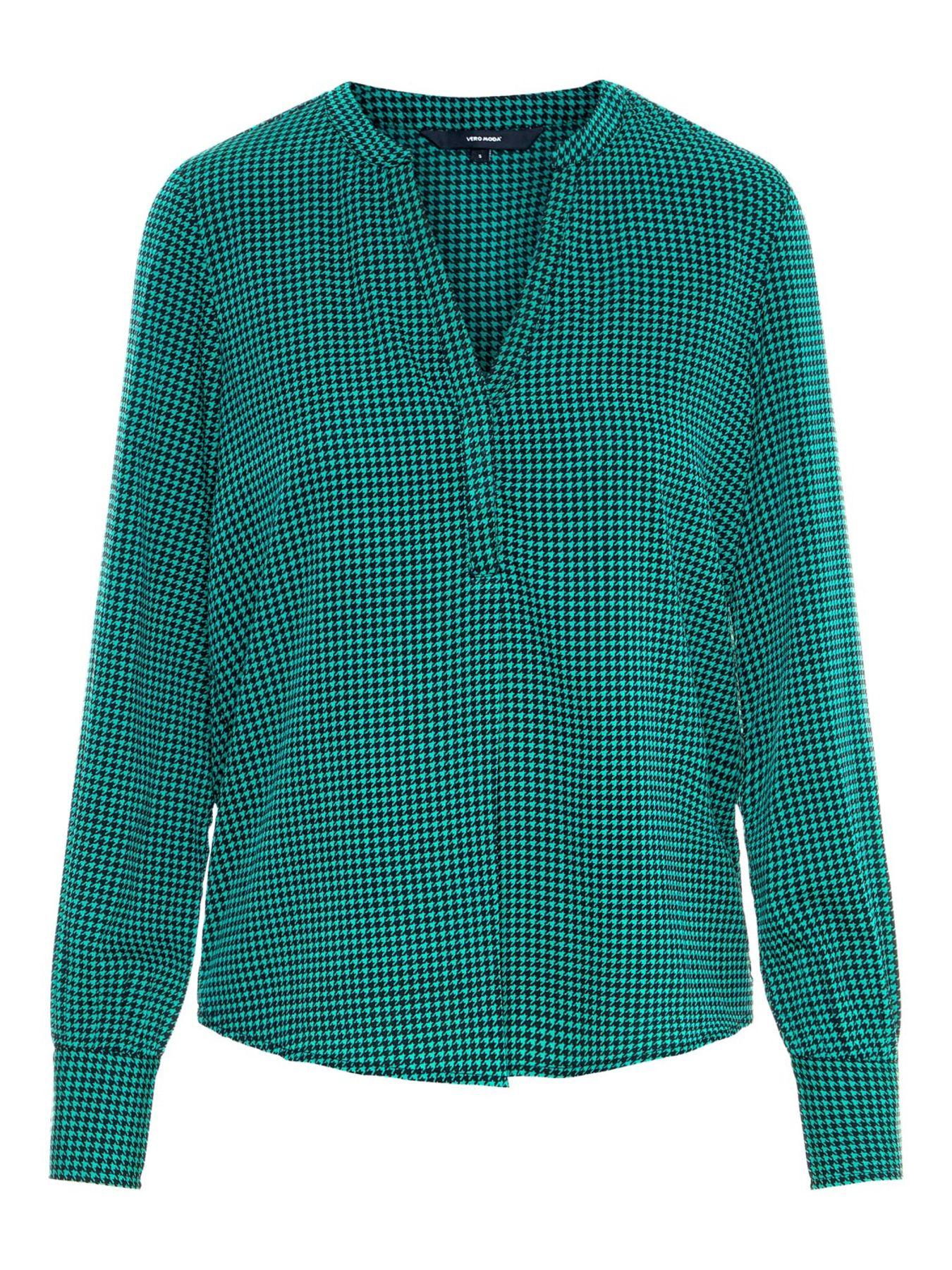 VERO MODA - Damen Top in verschiedene Farben, VMHALLIE LS TOP (10206593) – Bild 6