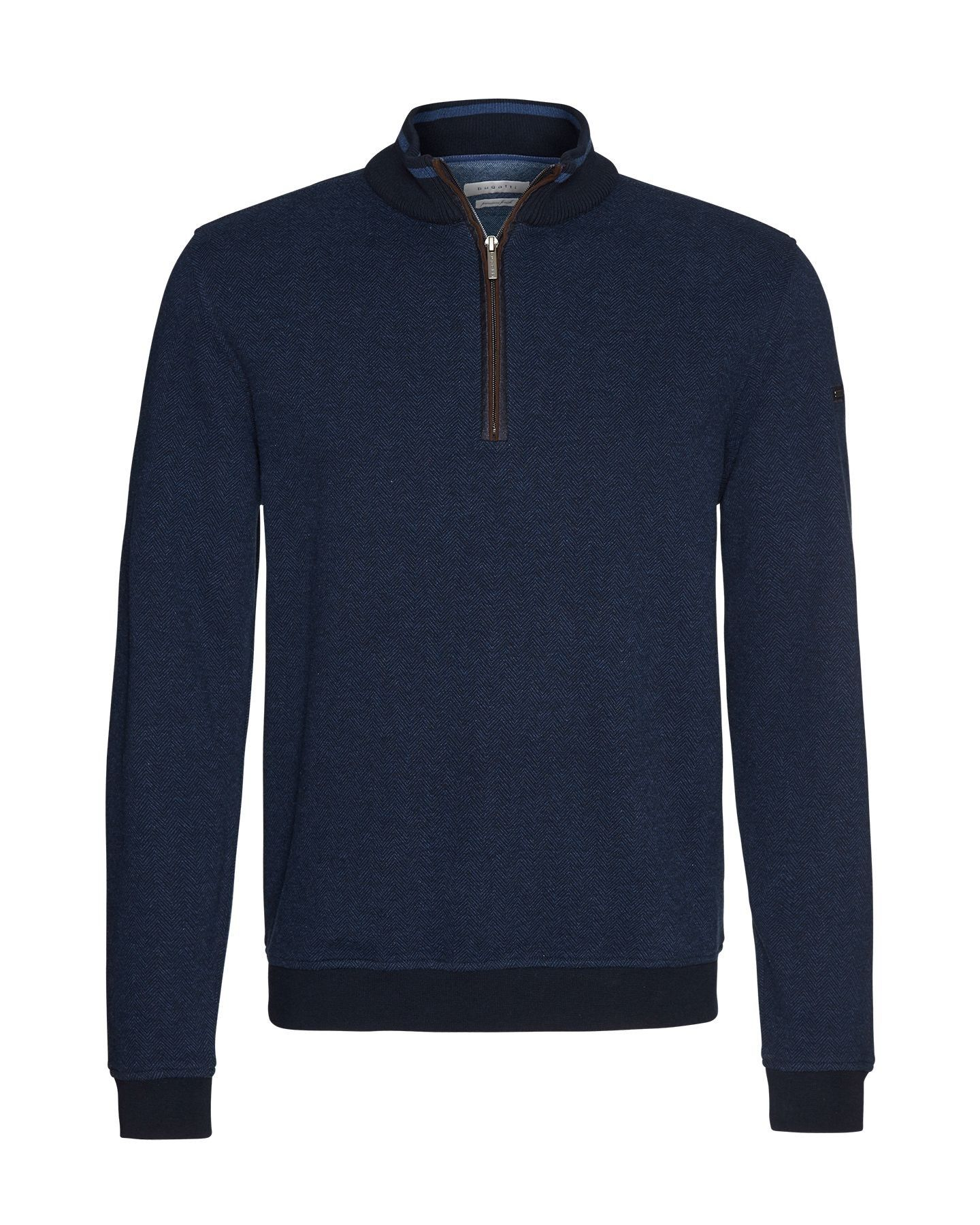 Bugatti - Herren Pullover Sweat-Troyer (Art. Nr.: 25060-8550) – Bild 5