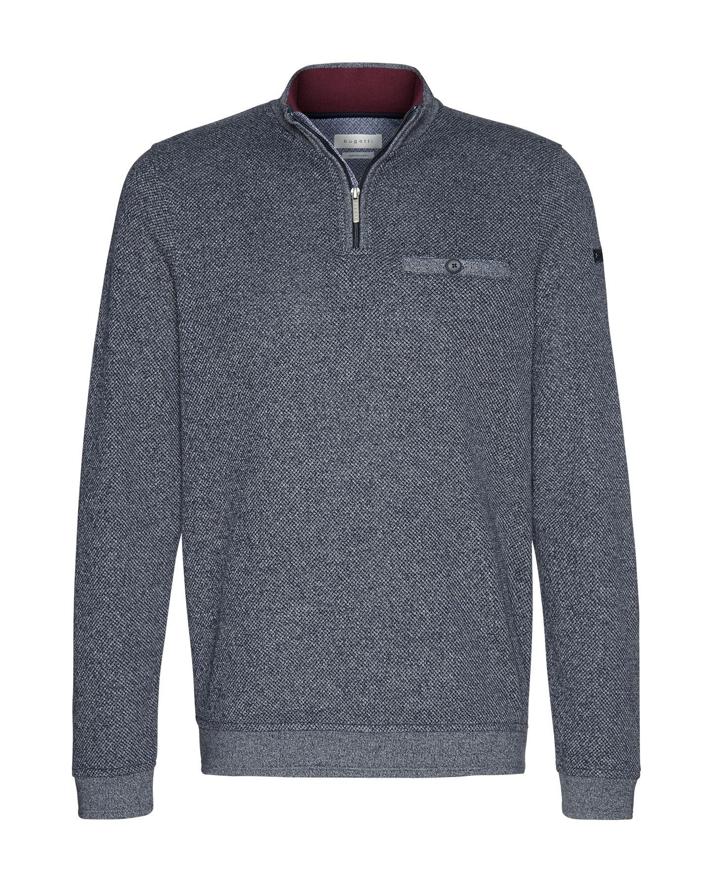Bugatti - Herren Pullover Sweat-Troyer (Art. Nr.: 25080-8550) – Bild 1