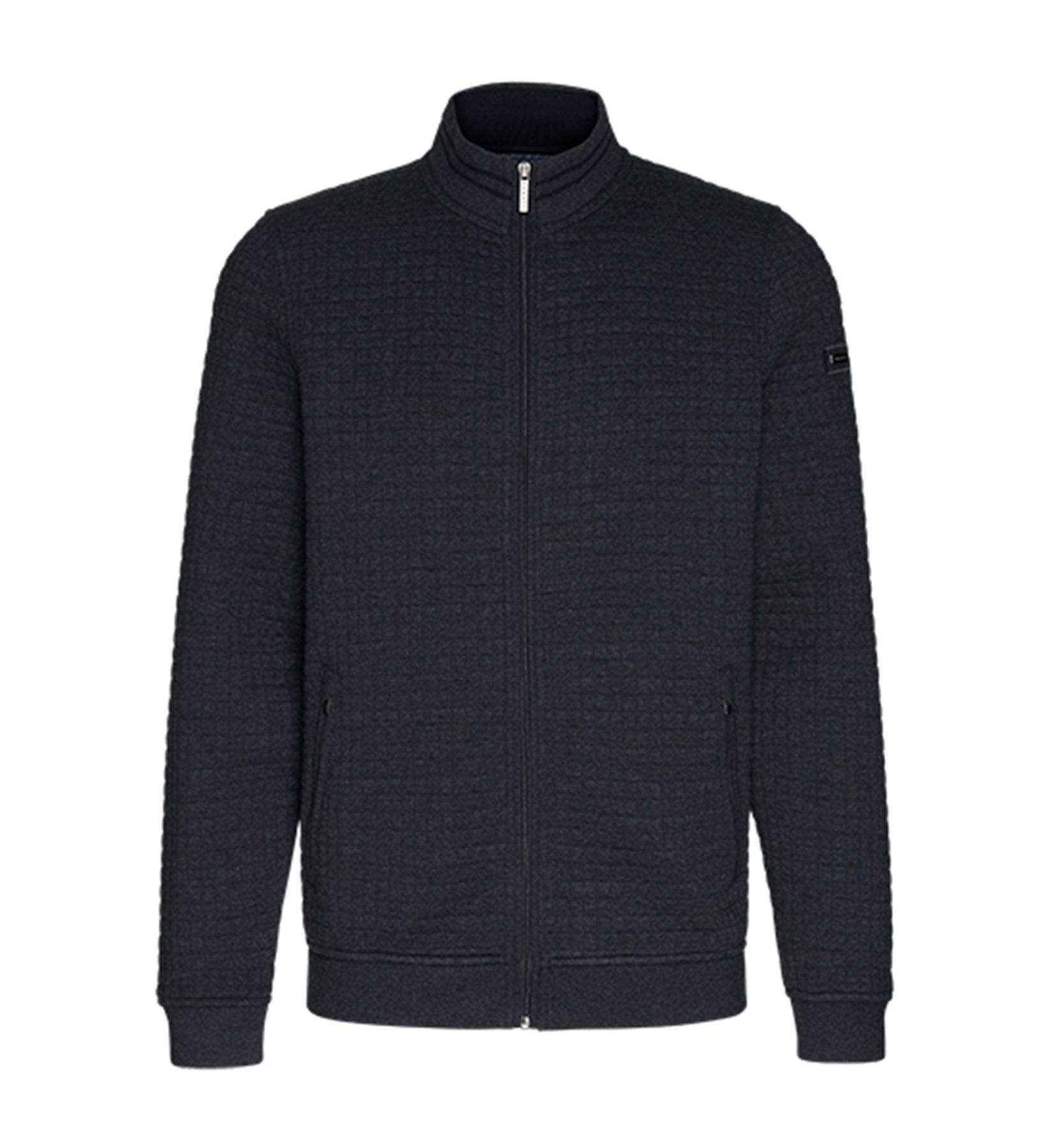 Bugatti - Herren Sweatshirt Jacke in Waffeloptik  (Art. Nr.: 25081-8750)