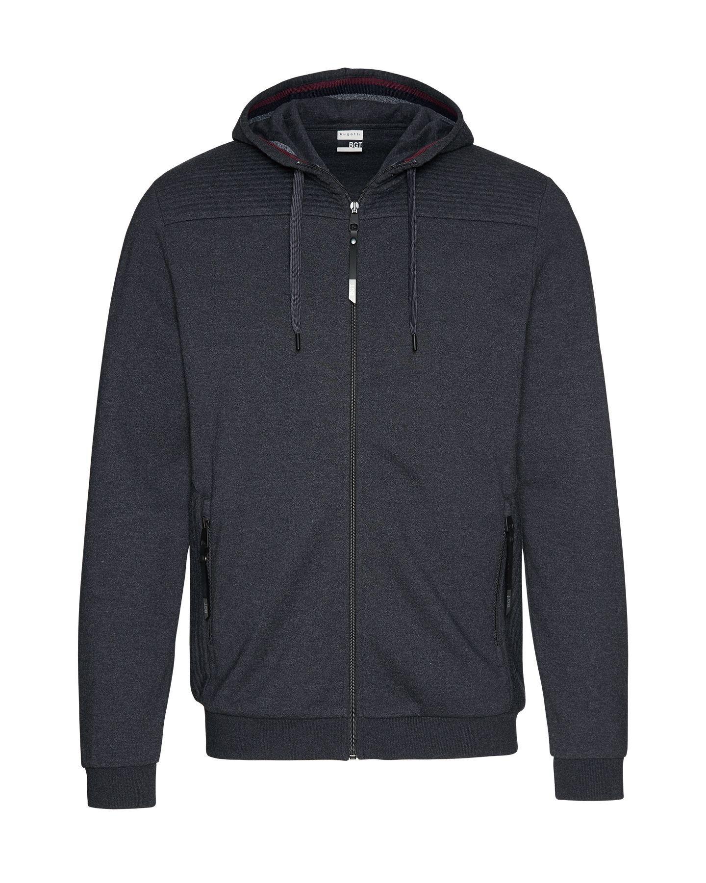 Bugatti - Herren Sweatshirt Jacke mit Kapuze (Art. Nr.: 25084-8750) – Bild 1