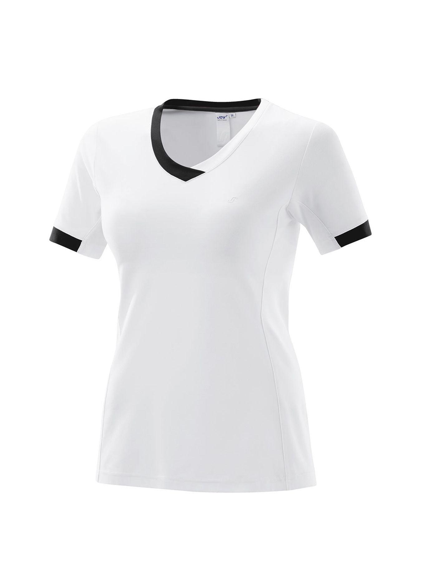 Joy - Damen Sport und Freizeit Shirt in weiß, Hella (34414 A) – Bild 1