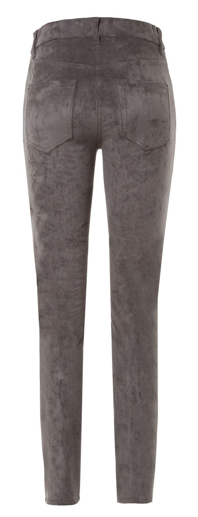 Atelier Gardeur - Modern Fit - Slip On Damenhose in Velourslederoptik Zeggi4 (600711) – Bild 9