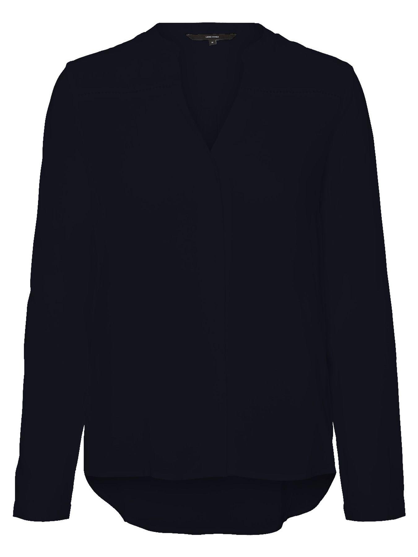 Vero Moda - Damen Bluse mit V Ausschnitt, VMSANDRA (10208427) – Bild 3