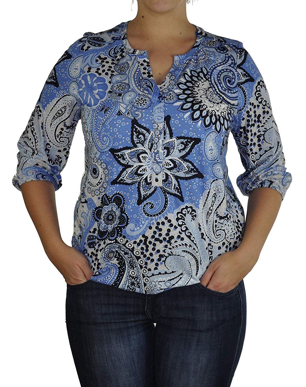 Soyaconcept - Damen Bluse in verschiedenen Farben, SC-Felicity AOP 231 (23957-30) 001