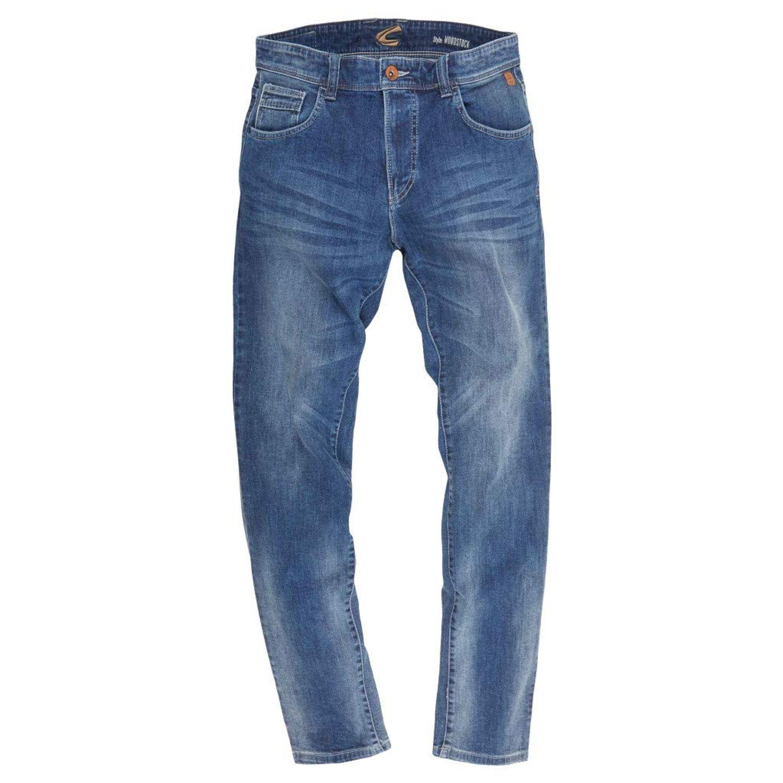 Camel Active - Herren Jeans 5-Pocket WOODSTOCK STONE WASHED USED (488465-9435) 001