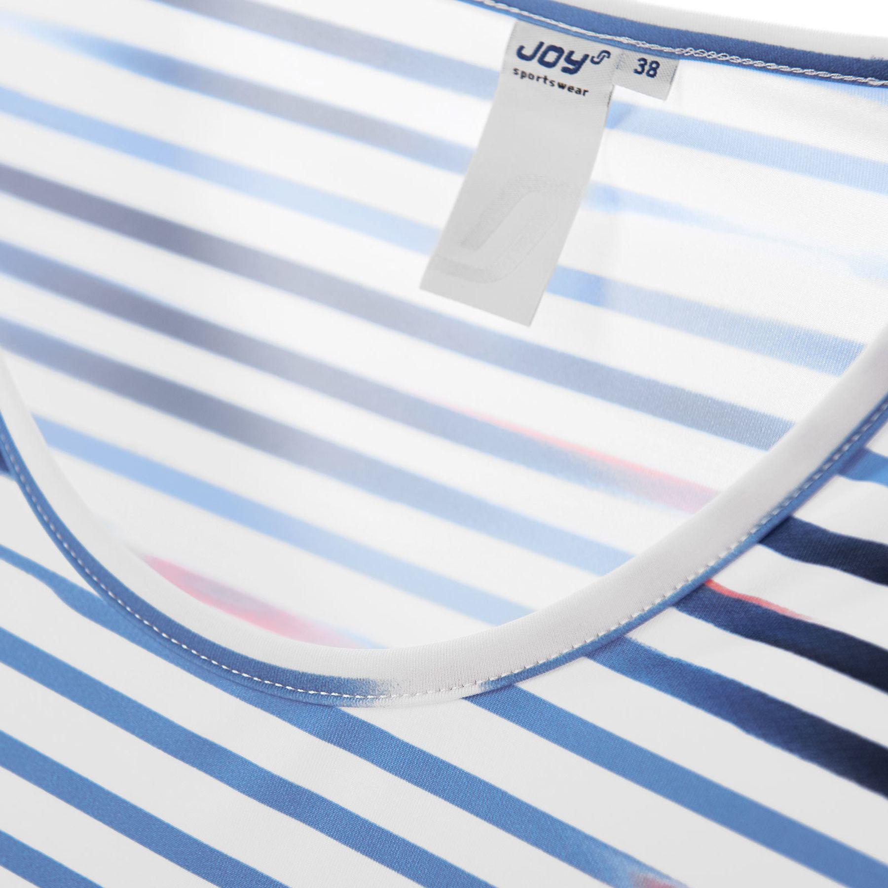 Joy - Damen T-Shirt mit Rundhalsausschnitt, gestreift, Annemie (30202A) – Bild 6