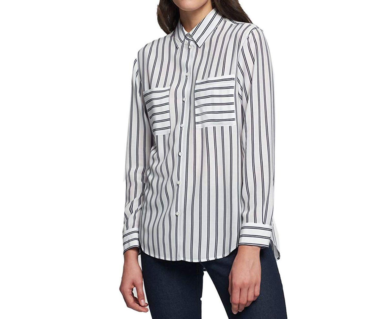 Seidensticker - Damen Bluse in gestreift (60.127781) 001